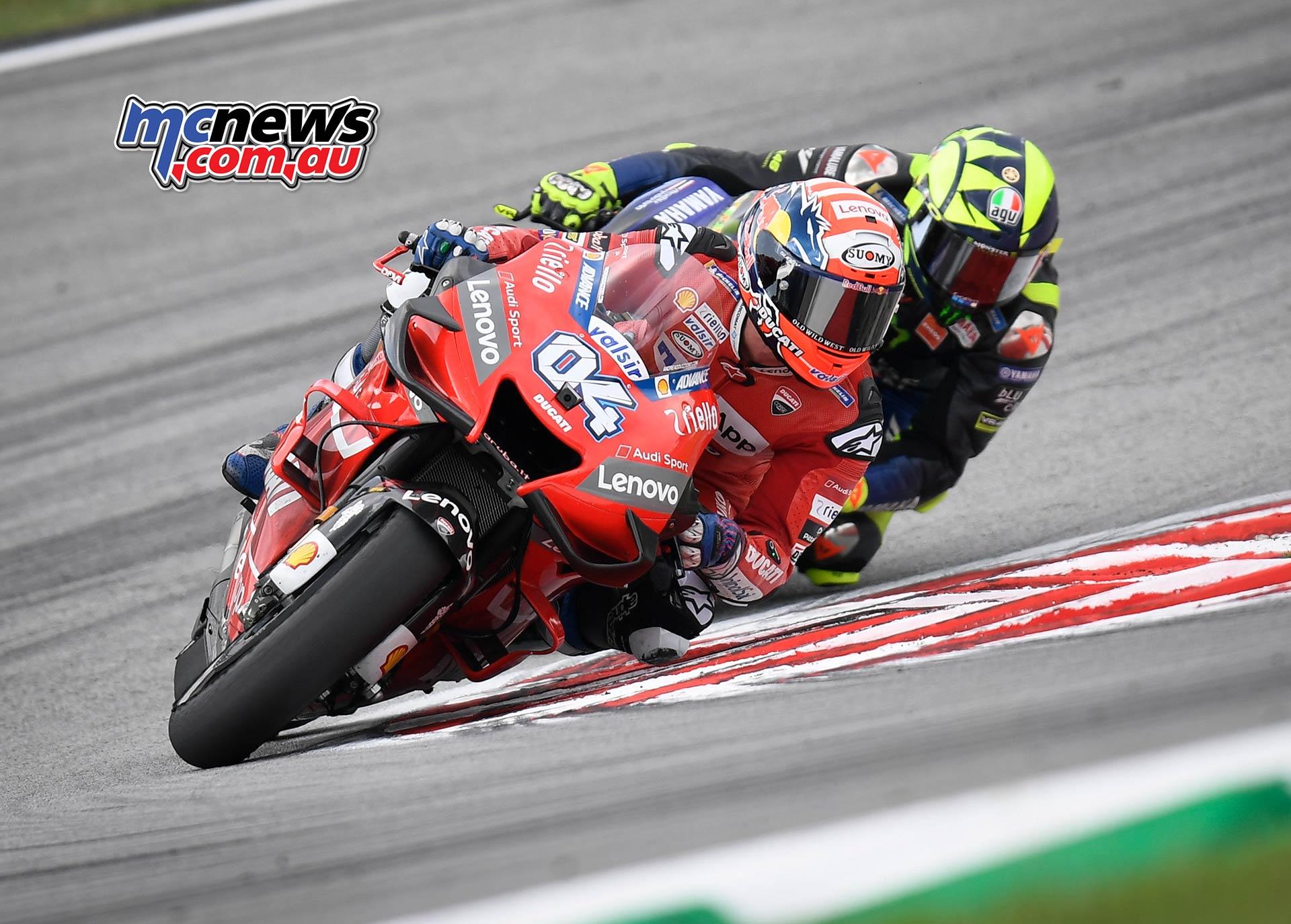 MotoGP Rnd Malaysia Dovizioso Rossi