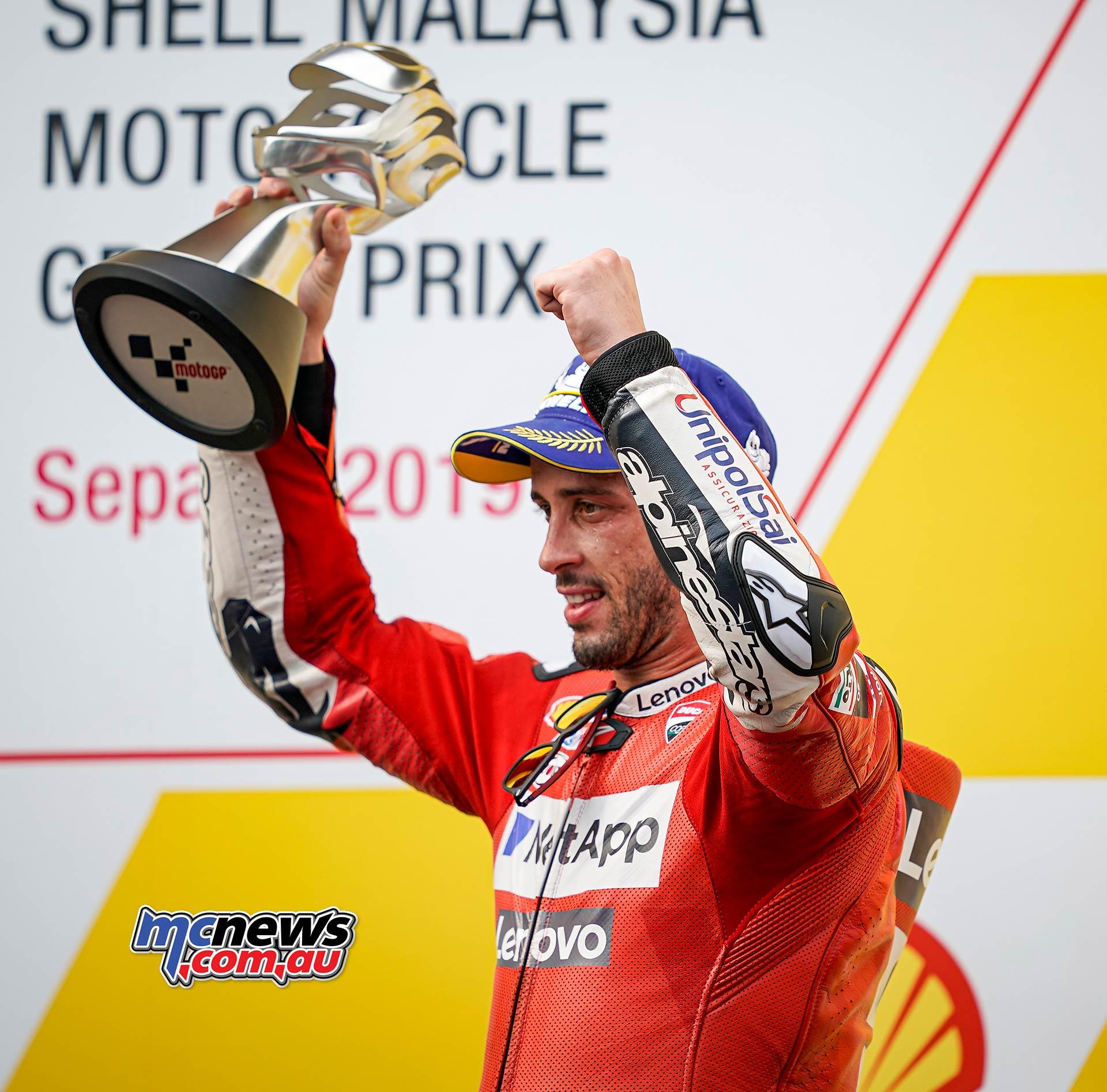 MotoGP Rnd Malaysia Dovizioso