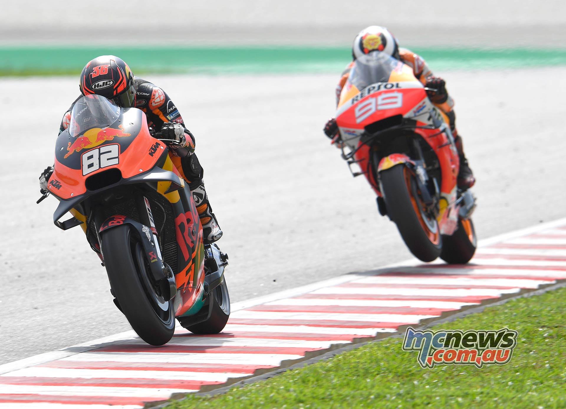 MotoGP Rnd Malaysia Kallio Lorenzo