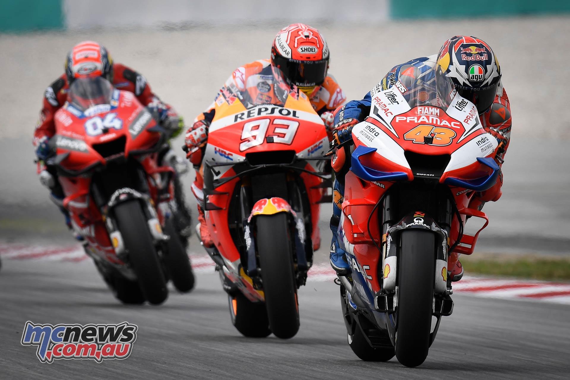 MotoGP Rnd Malaysia Miller Marquez Dovi