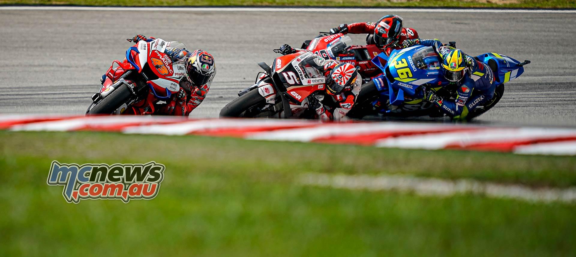 MotoGP Rnd Malaysia Miller Zarco Mir Petrucci