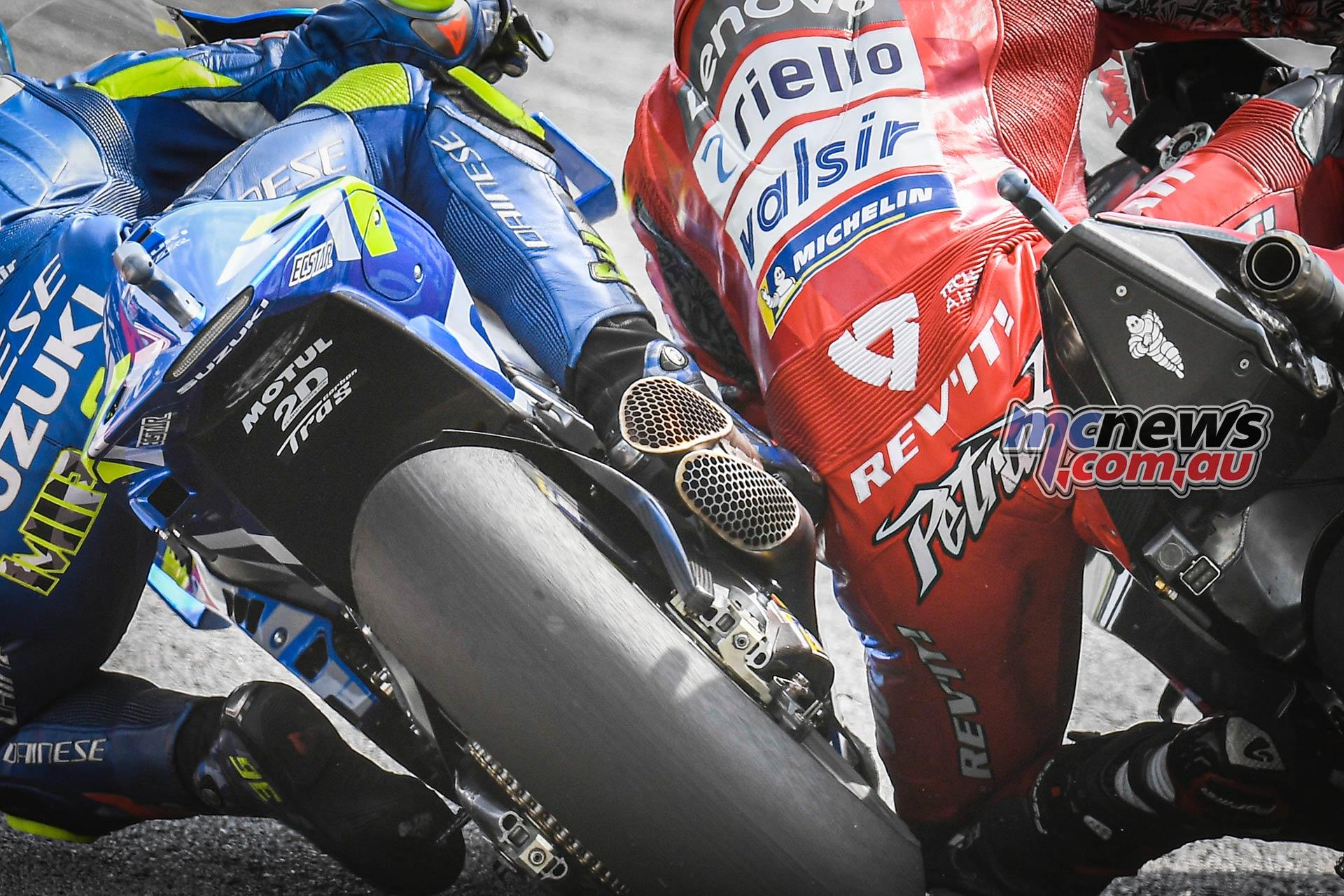 MotoGP Rnd Malaysia Mir Petrucci Clash