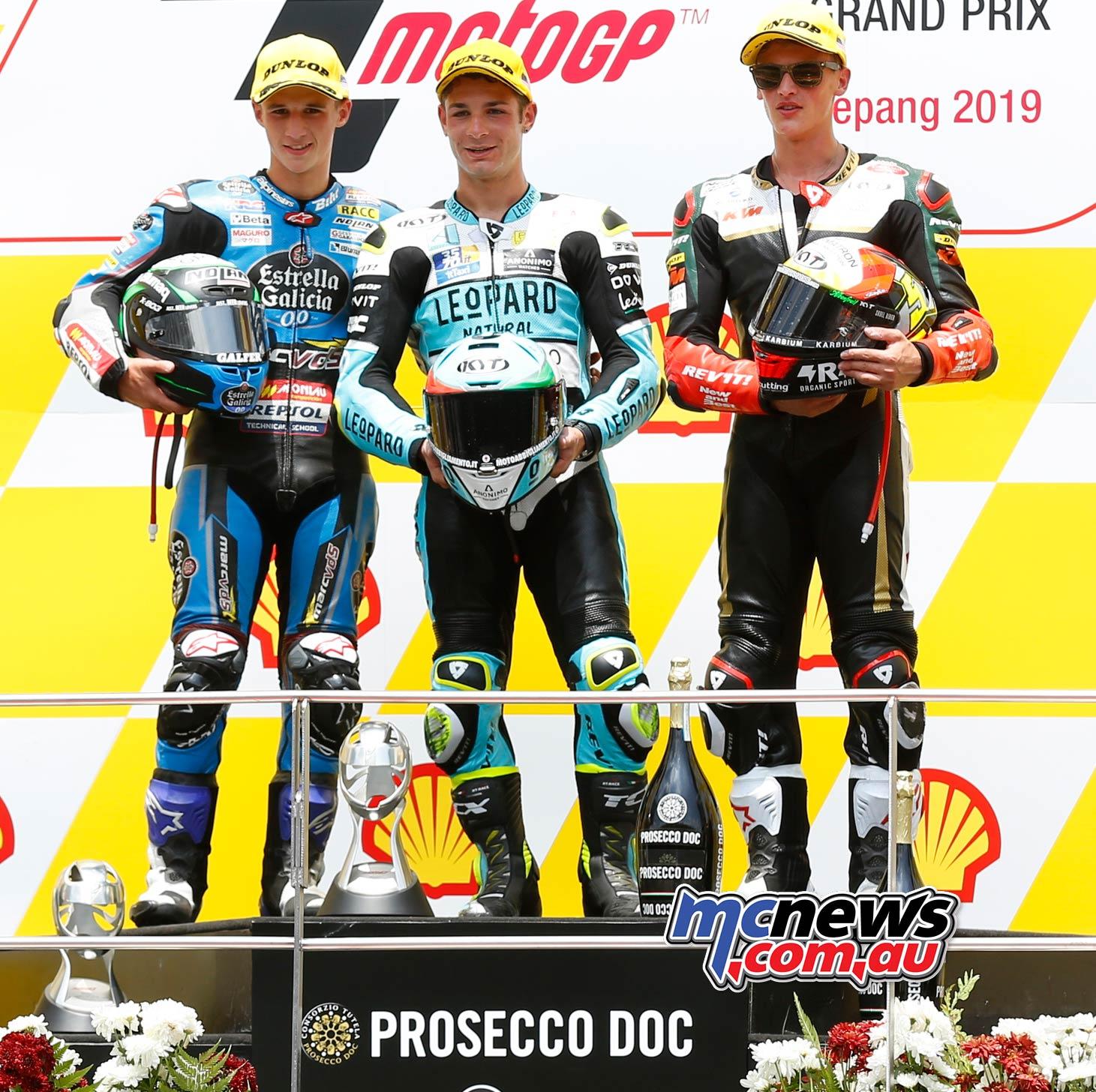 MotoGP Rnd Malaysia Moto Garcia Dalla Porta Masia