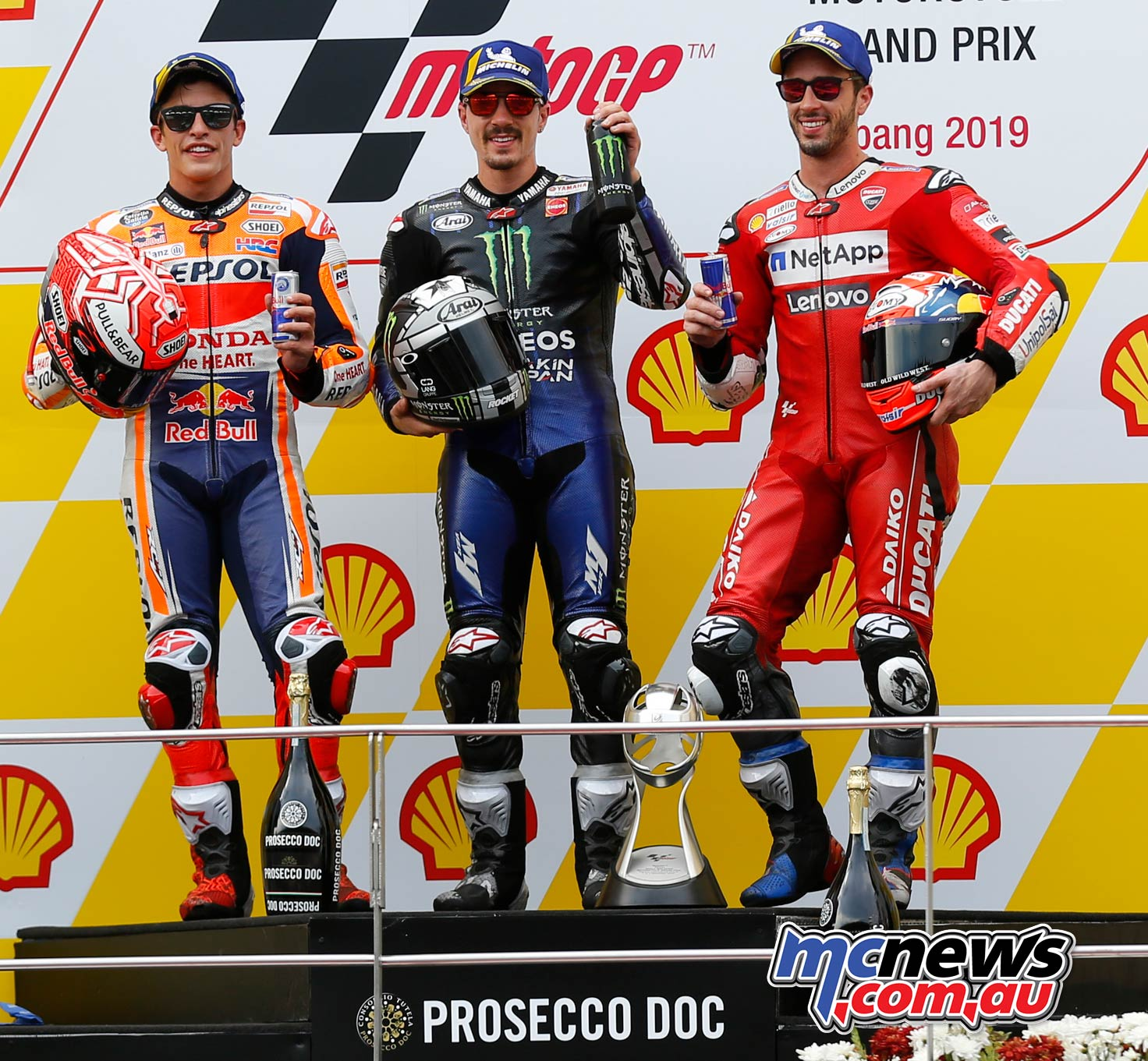 MotoGP Rnd Malaysia MotoGP Podium