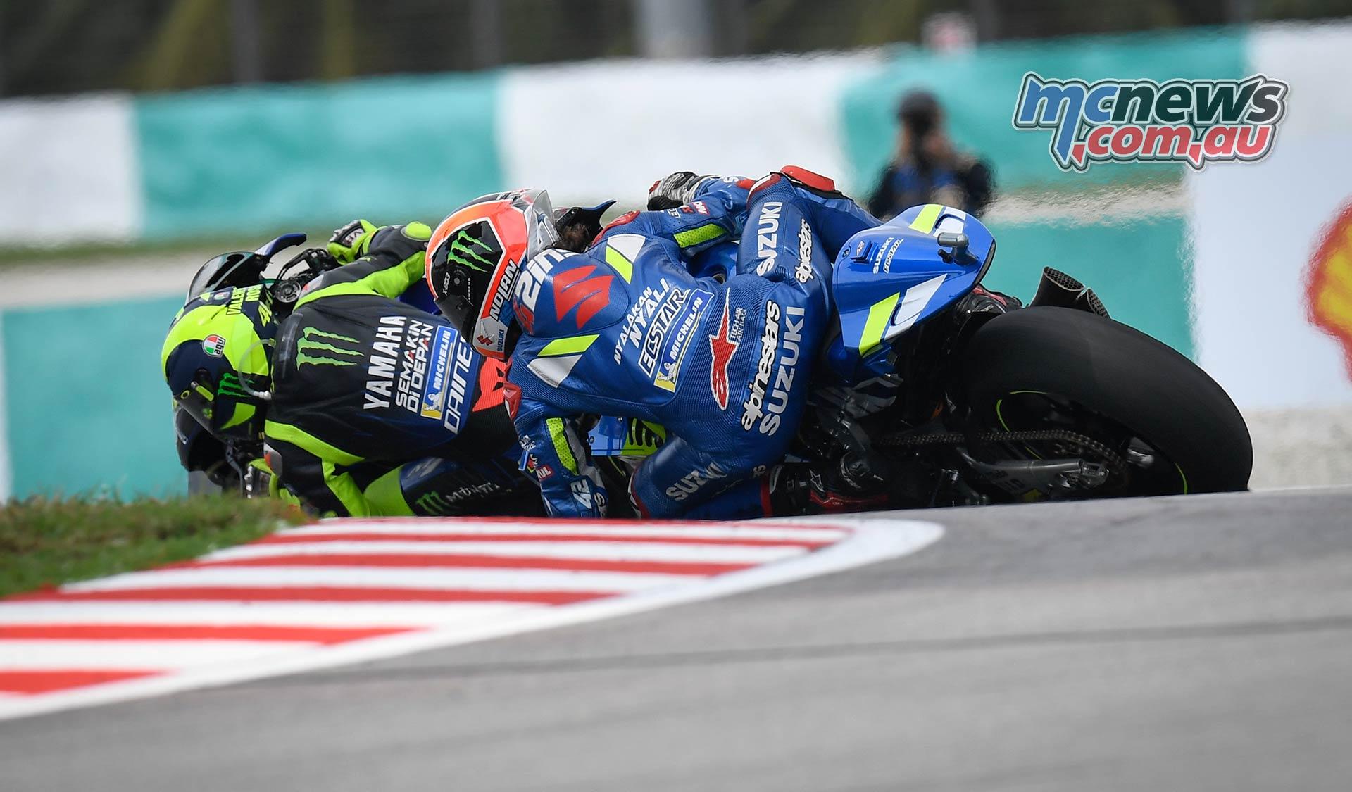 MotoGP Rnd Malaysia Rossi Rins