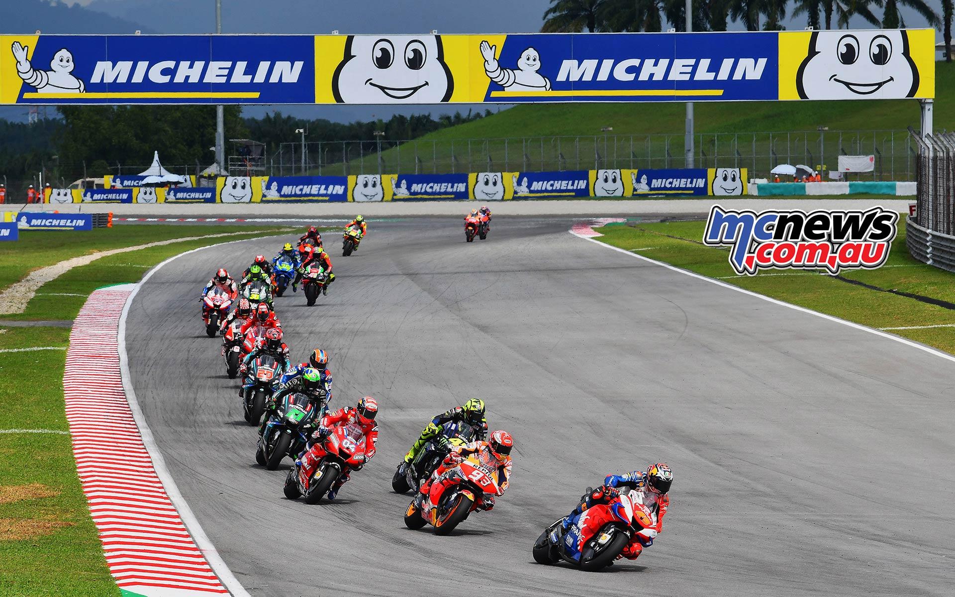 MotoGP Rnd Malaysia Start Miller