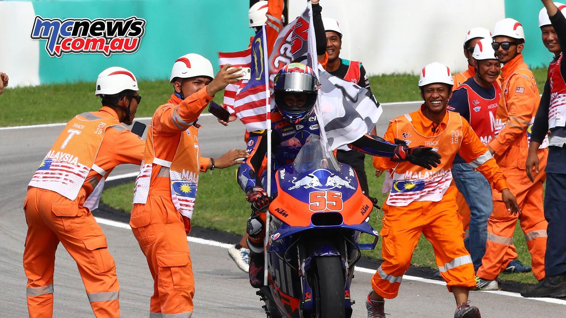 MotoGP Rnd Malaysia Syahrin Malaysia