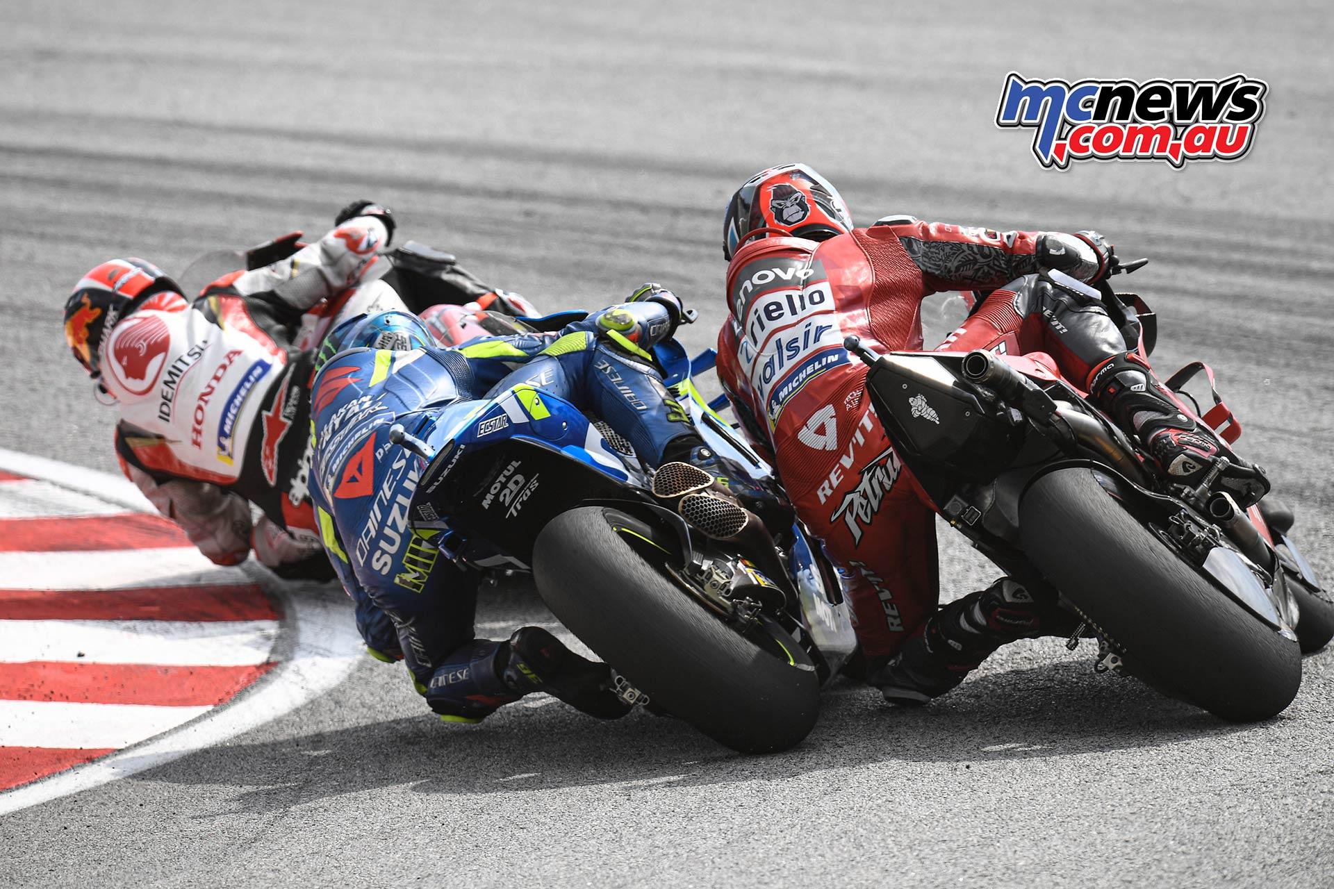 MotoGP Rnd Malaysia Zarco Mir Petrucci