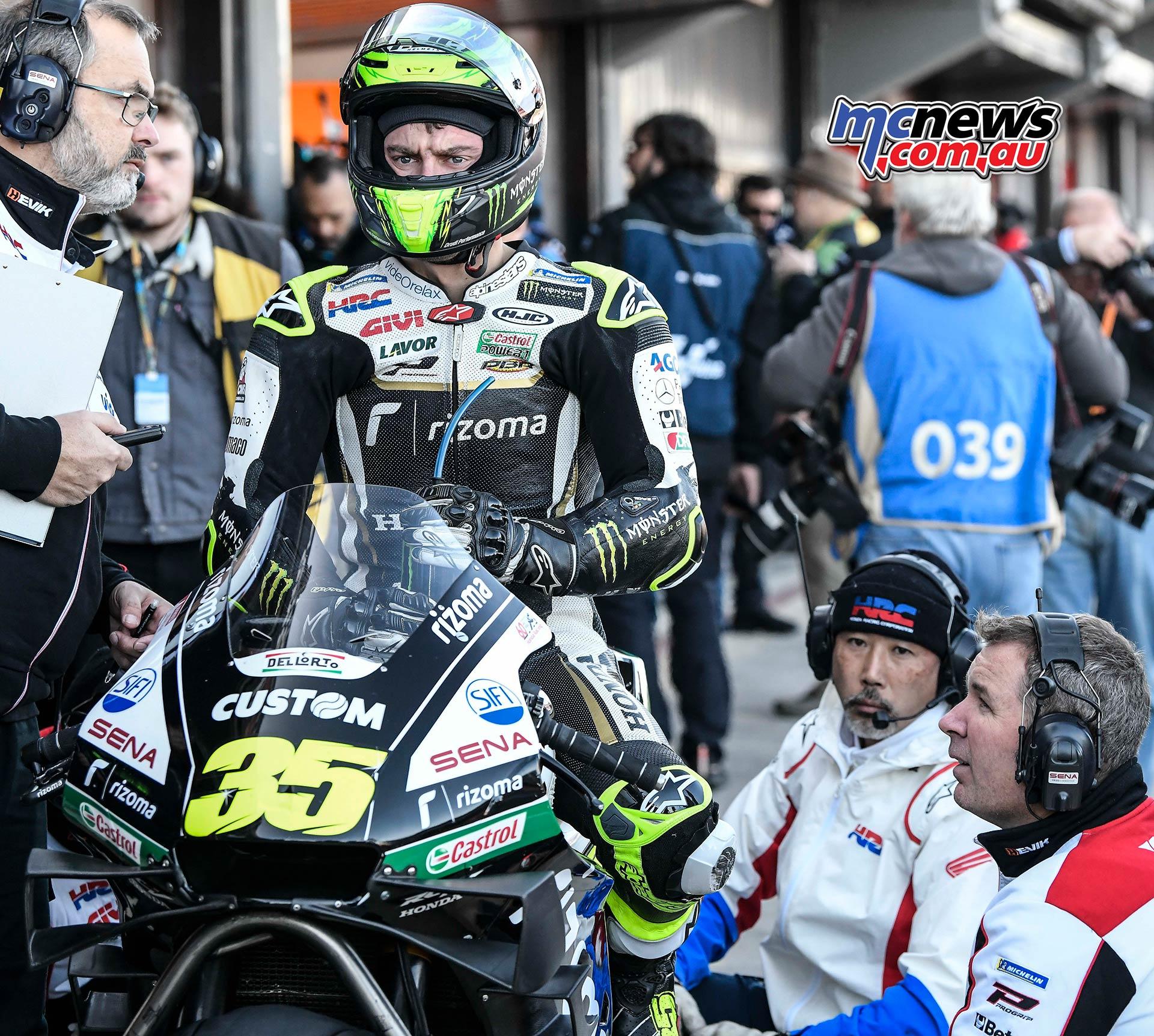 MotoGP Rnd Valencia QP Crutchlow