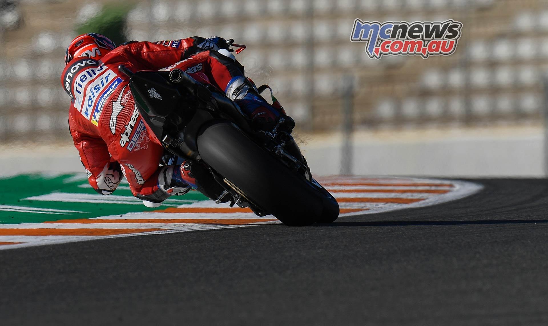 MotoGP Rnd Valencia QP Dovizioso