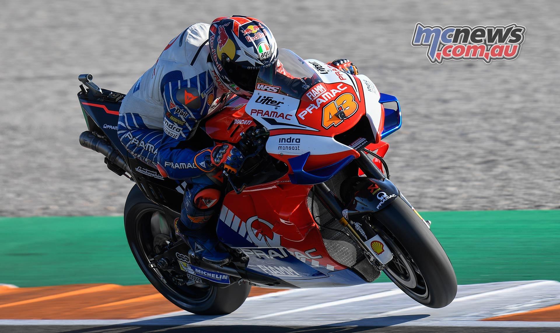 MotoGP Rnd Valencia QP Miller
