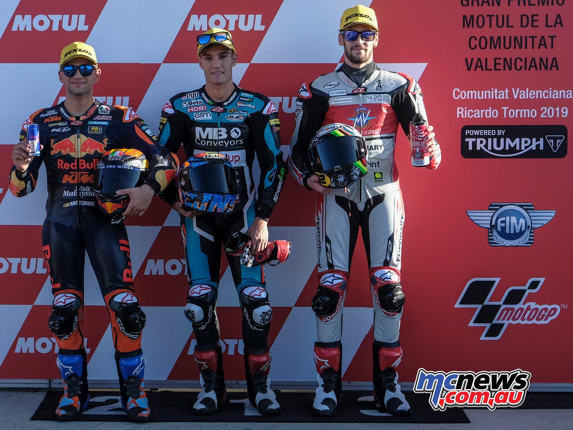 MotoGP Rnd Valencia QP Moto QP Martin Navarro Manzi