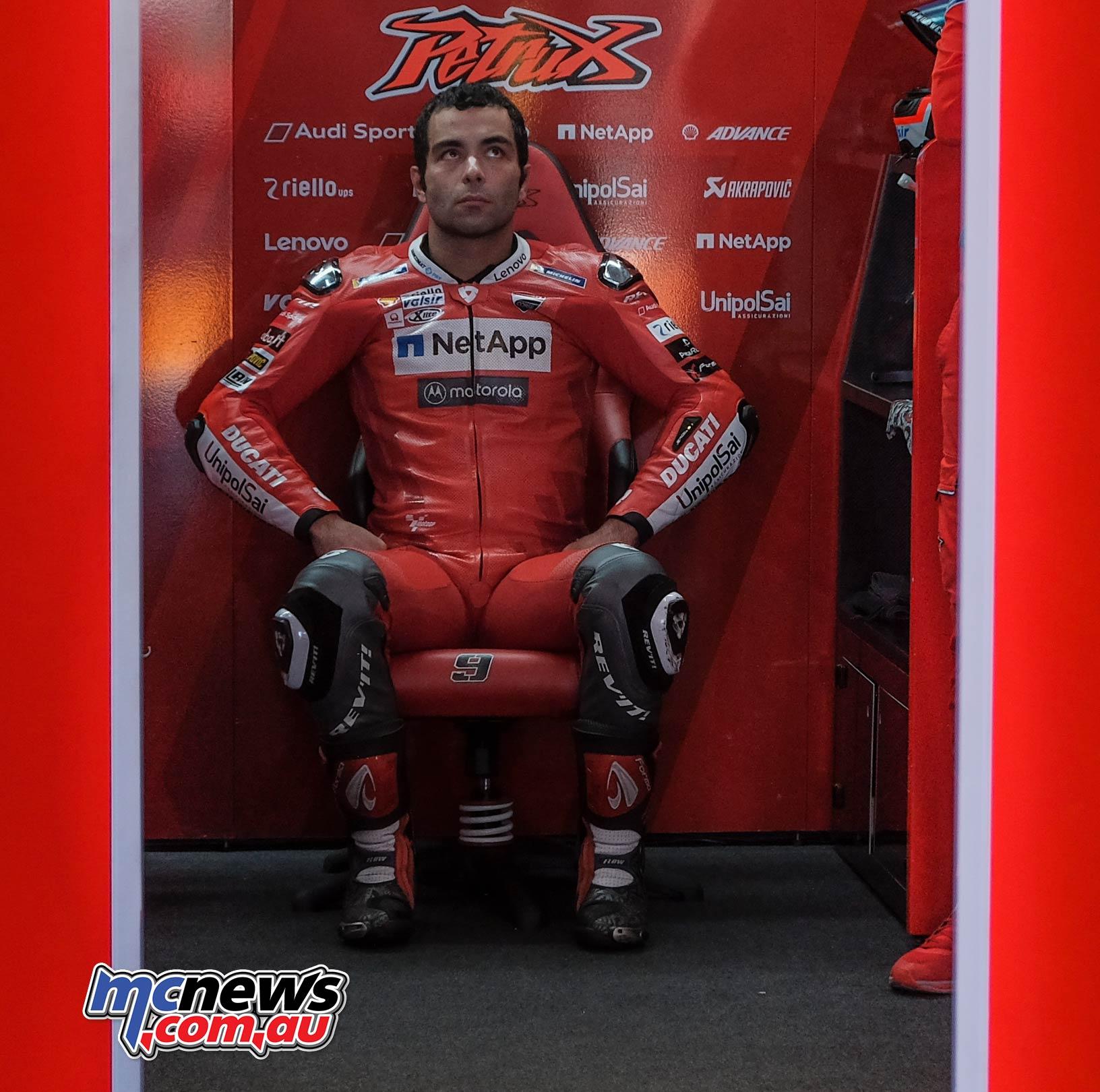MotoGP Rnd Valencia QP Petrucci