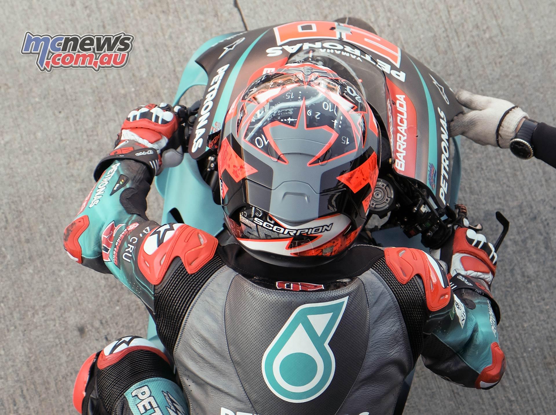 MotoGP Rnd Valencia QP Quartararo