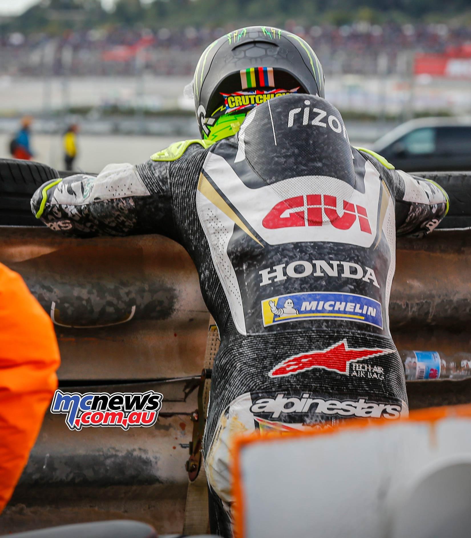 MotoGP Rnd Valencia Race Crutchlow Crashed