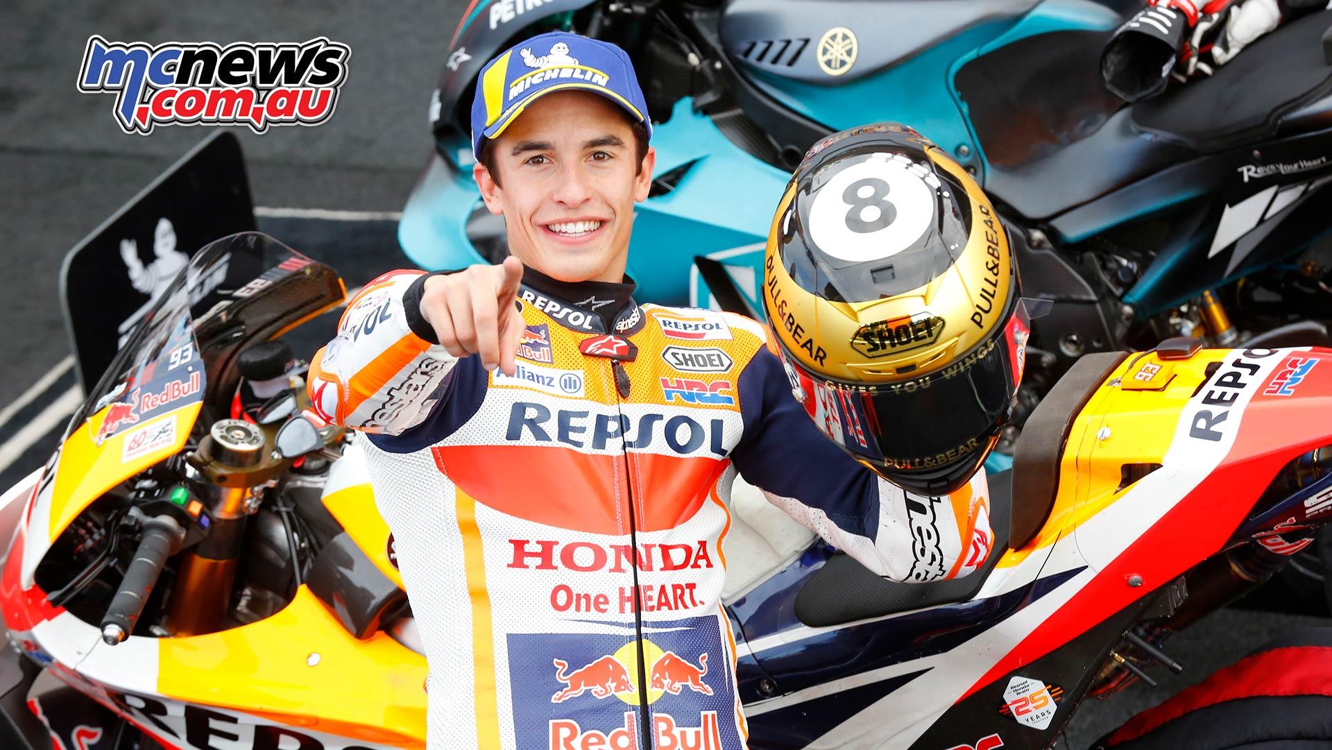 MotoGP Rnd Valencia Race Marquez Helmet