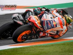 MotoGP Rnd Valencia Race Marquez Quartararo Close