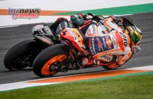 MotoGP Rnd Valencia Race Marquez Quartararo Close