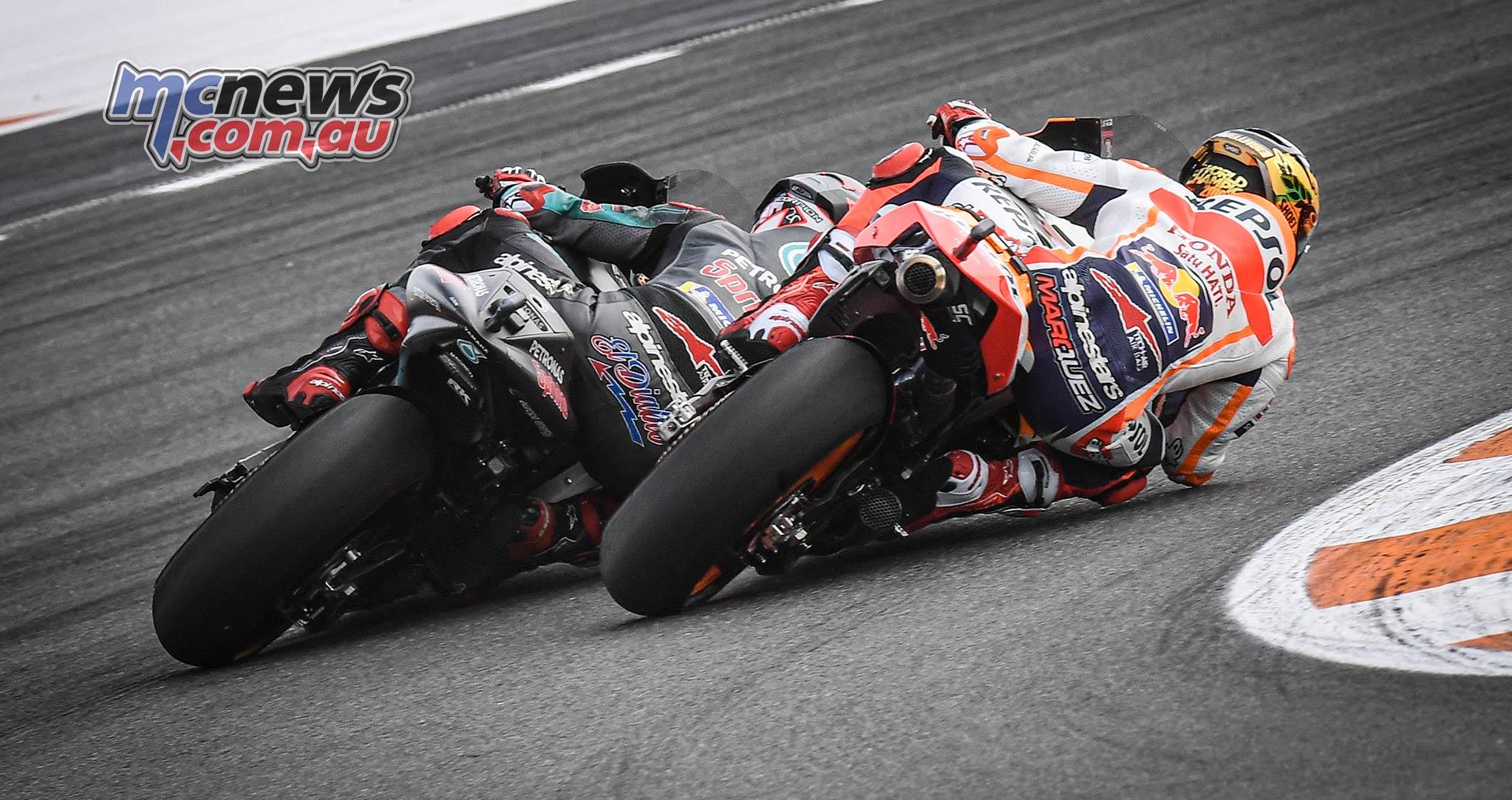 MotoGP Rnd Valencia Race Marquez Quartararo
