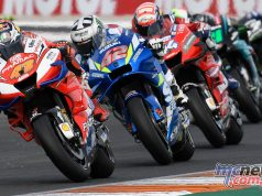 MotoGP Rnd Valencia Race Miller Rins Dovi