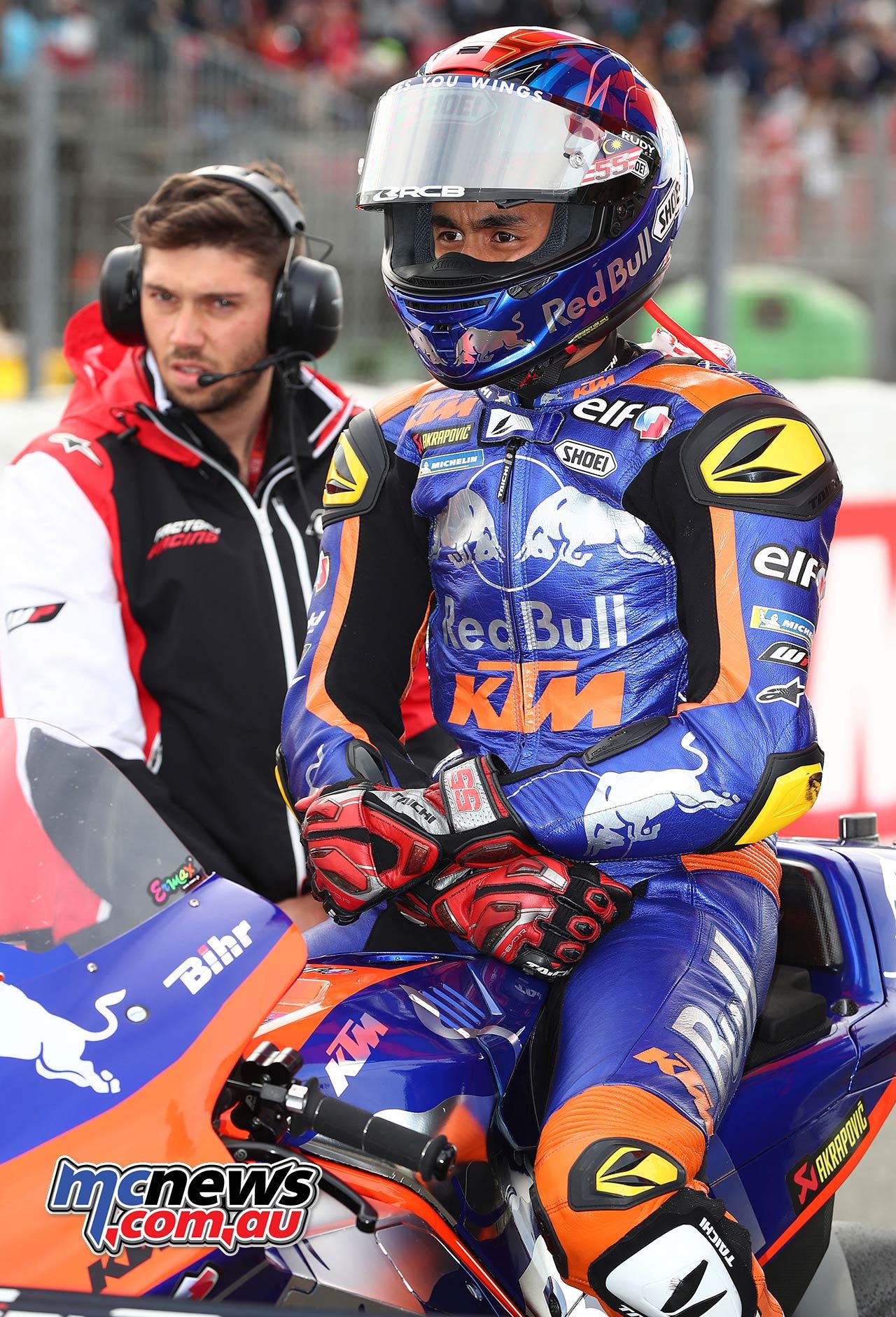 MotoGP Rnd Valencia Syahrin GP AN