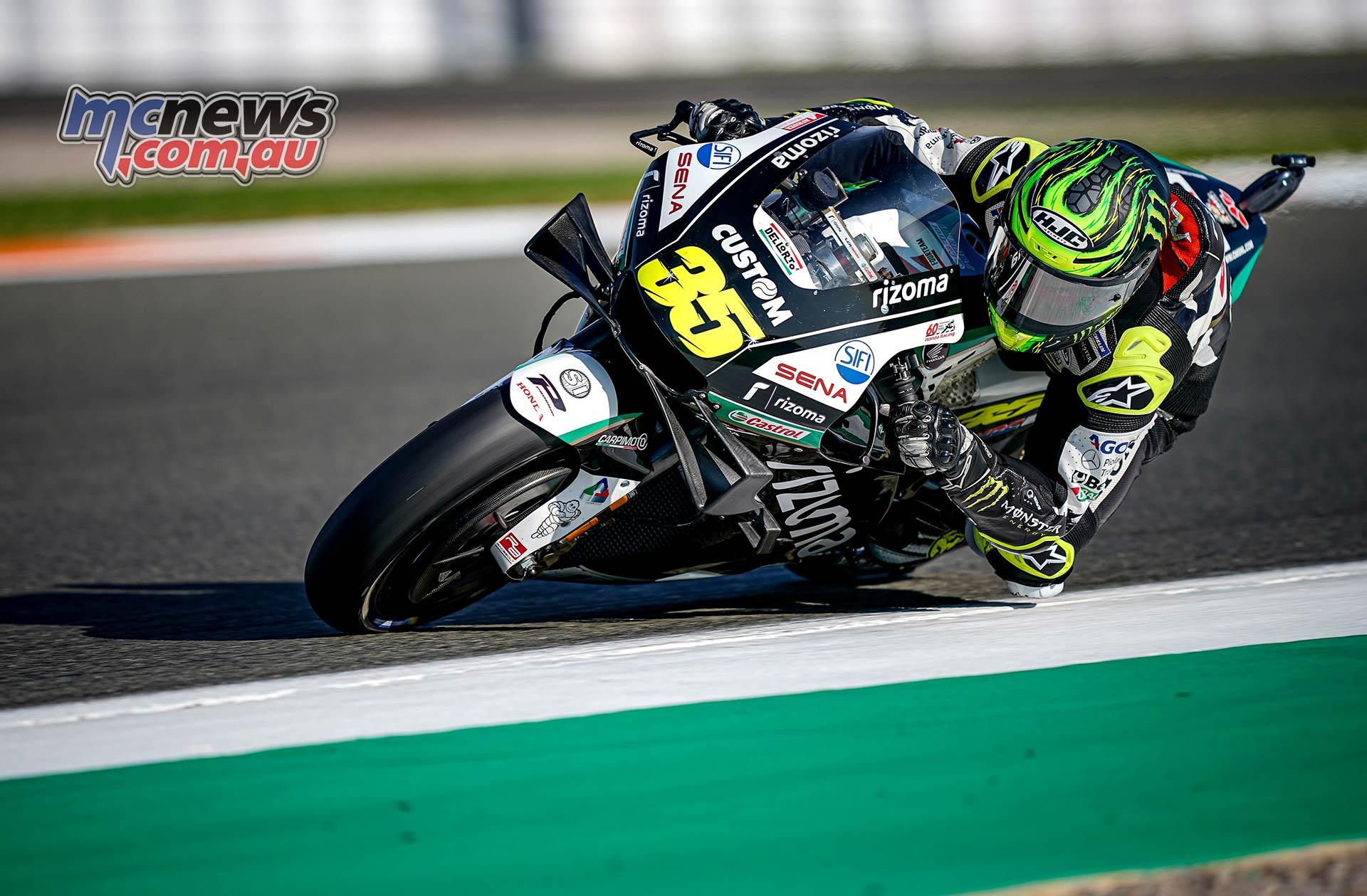 MotoGP Round Valencia Day Crutchlow
