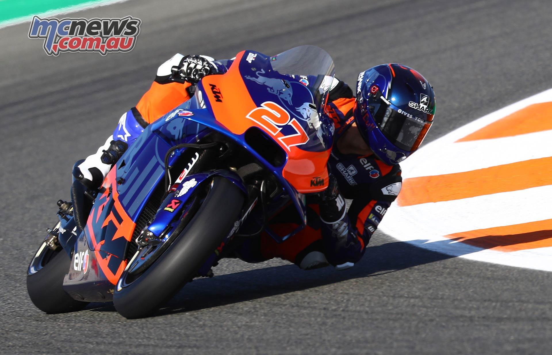 MotoGP Round Valencia Day Iker Lecuona