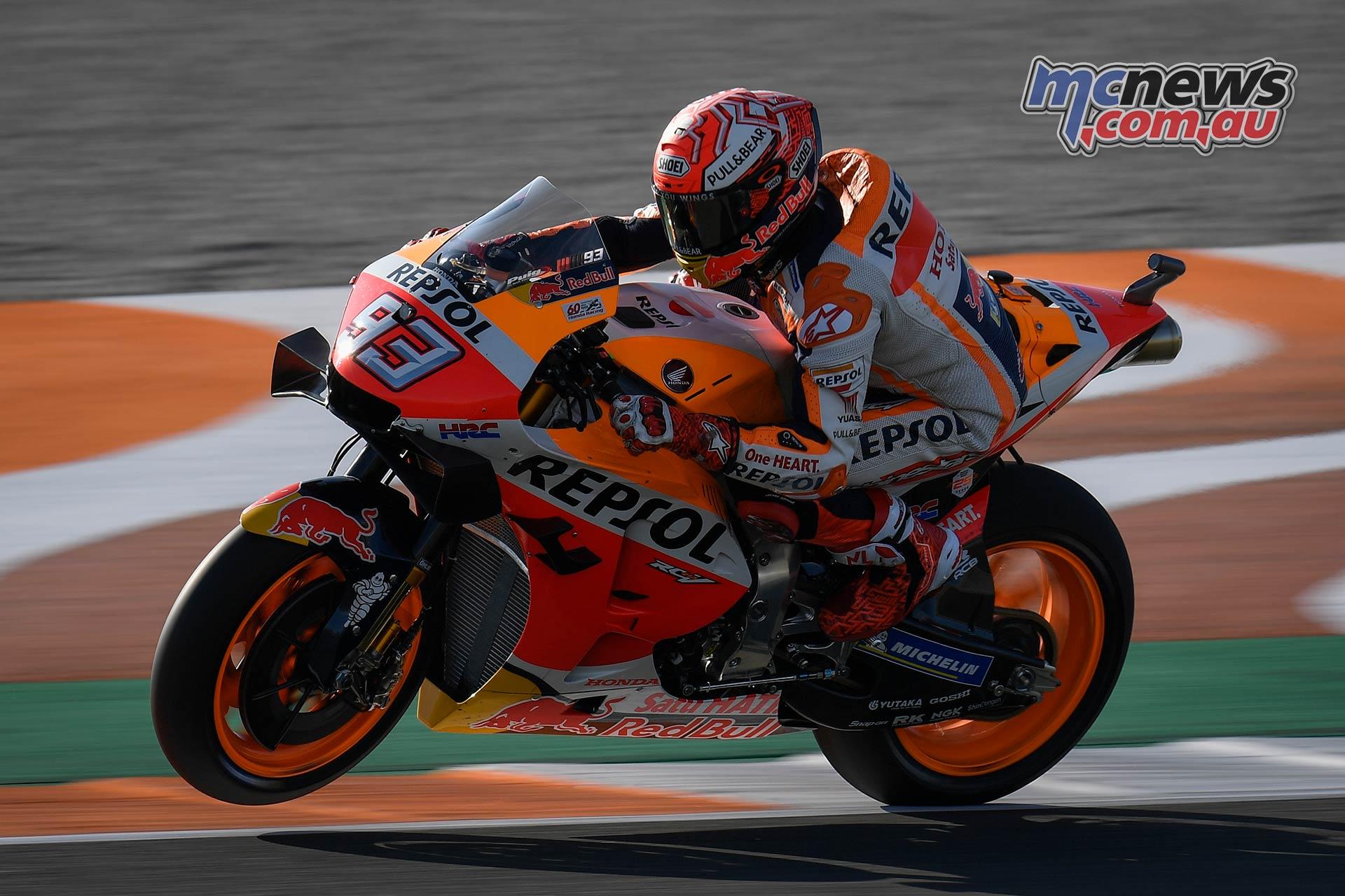MotoGP Round Valencia Day Marquez