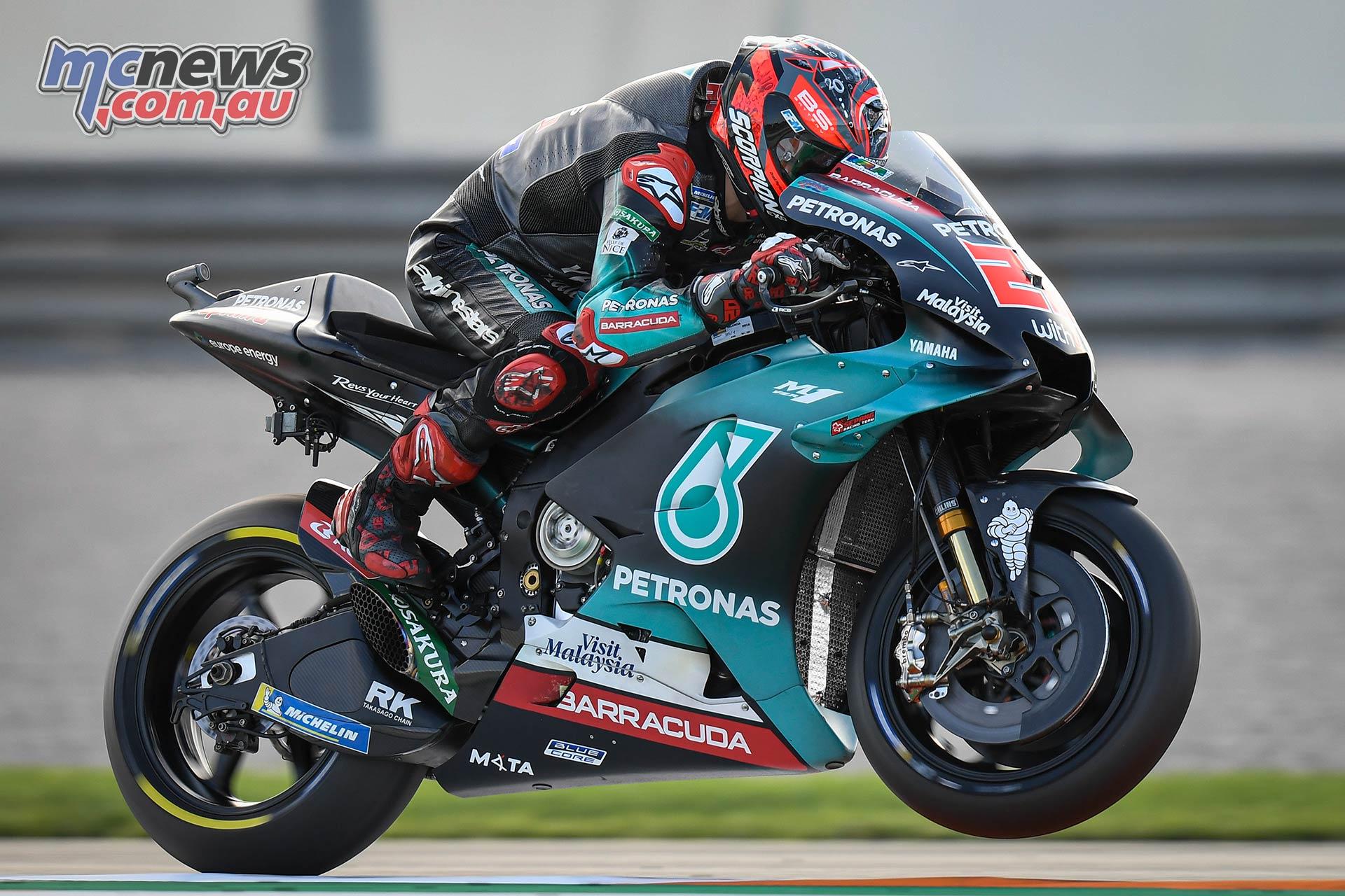 MotoGP Round Valencia Day Quartararo