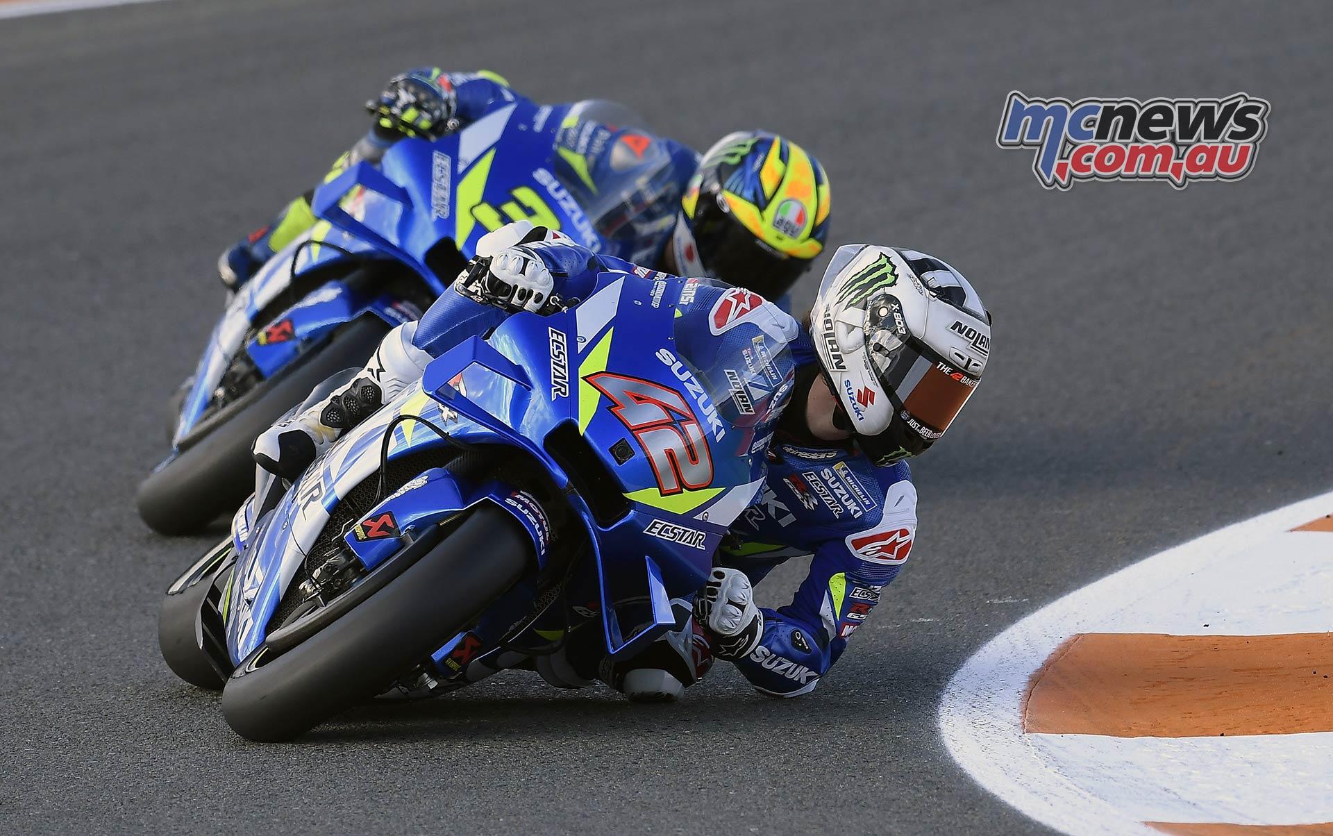 MotoGP Round Valencia Day Rins Mir