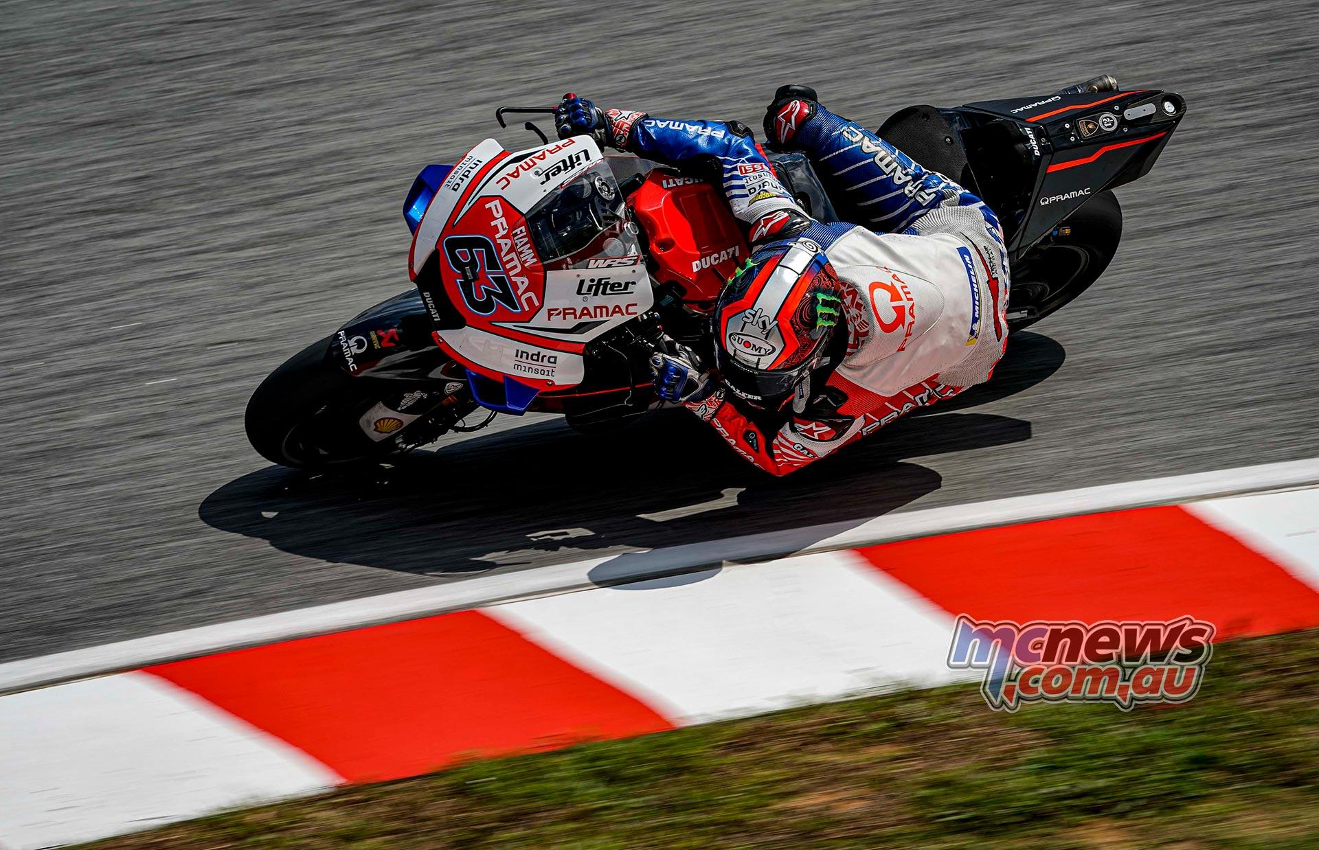 MotoGP Sepang Fri Bagnaia