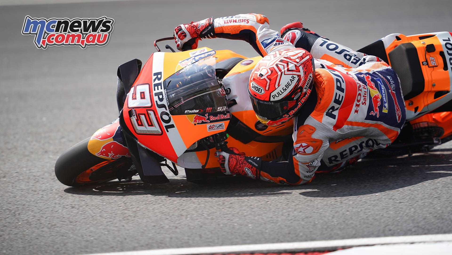MotoGP Sepang Fri Marquez Save