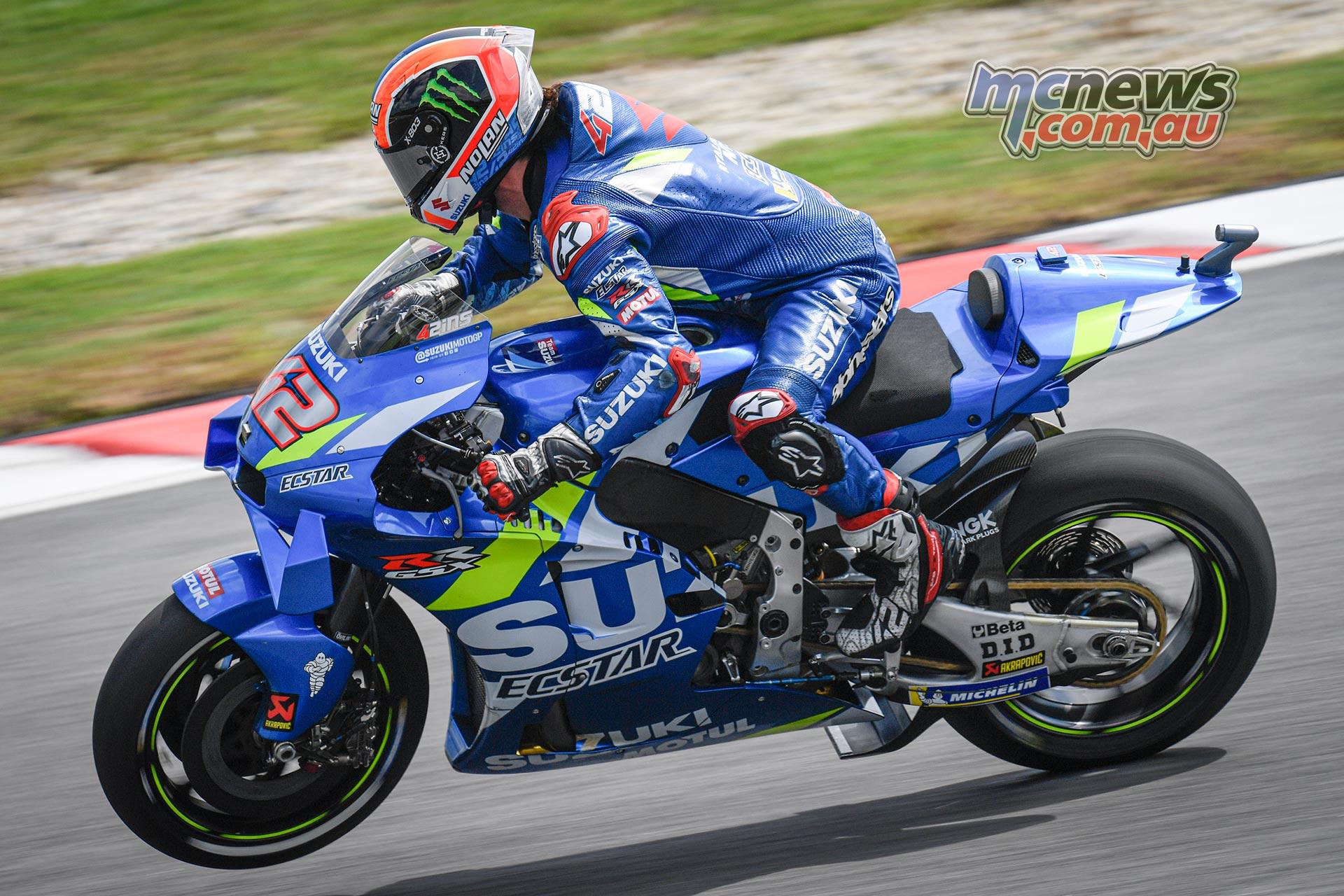MotoGP Sepang Fri Rins