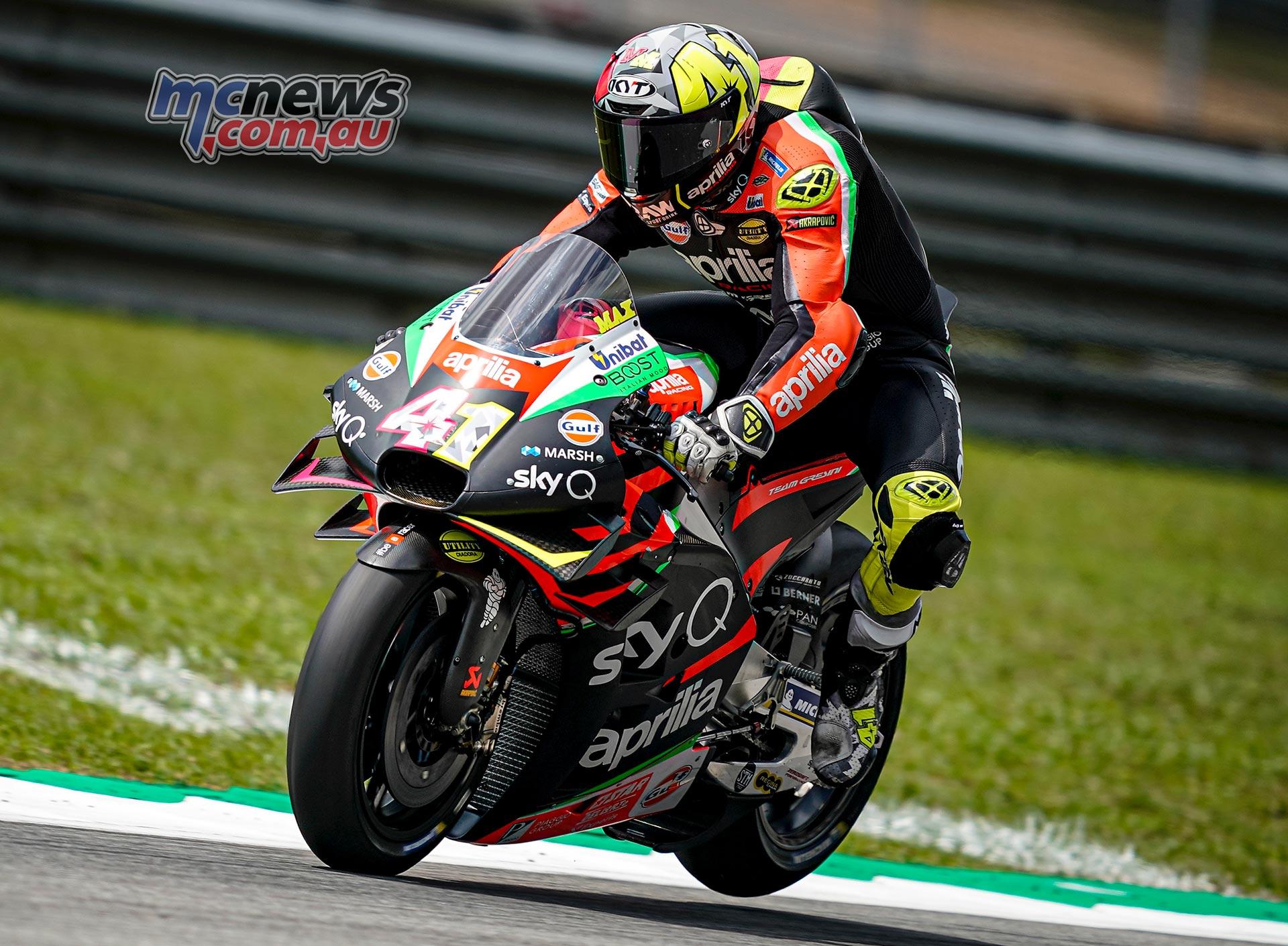 MotoGP Sepang QP Aleix Espargaro