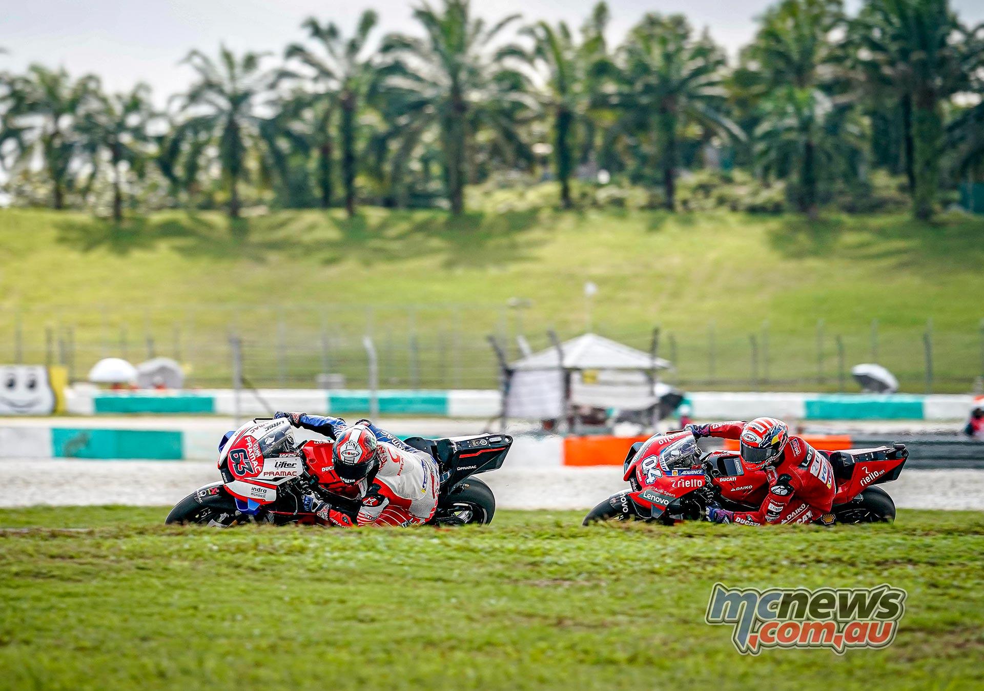 MotoGP Sepang QP Bagnaia Dovi