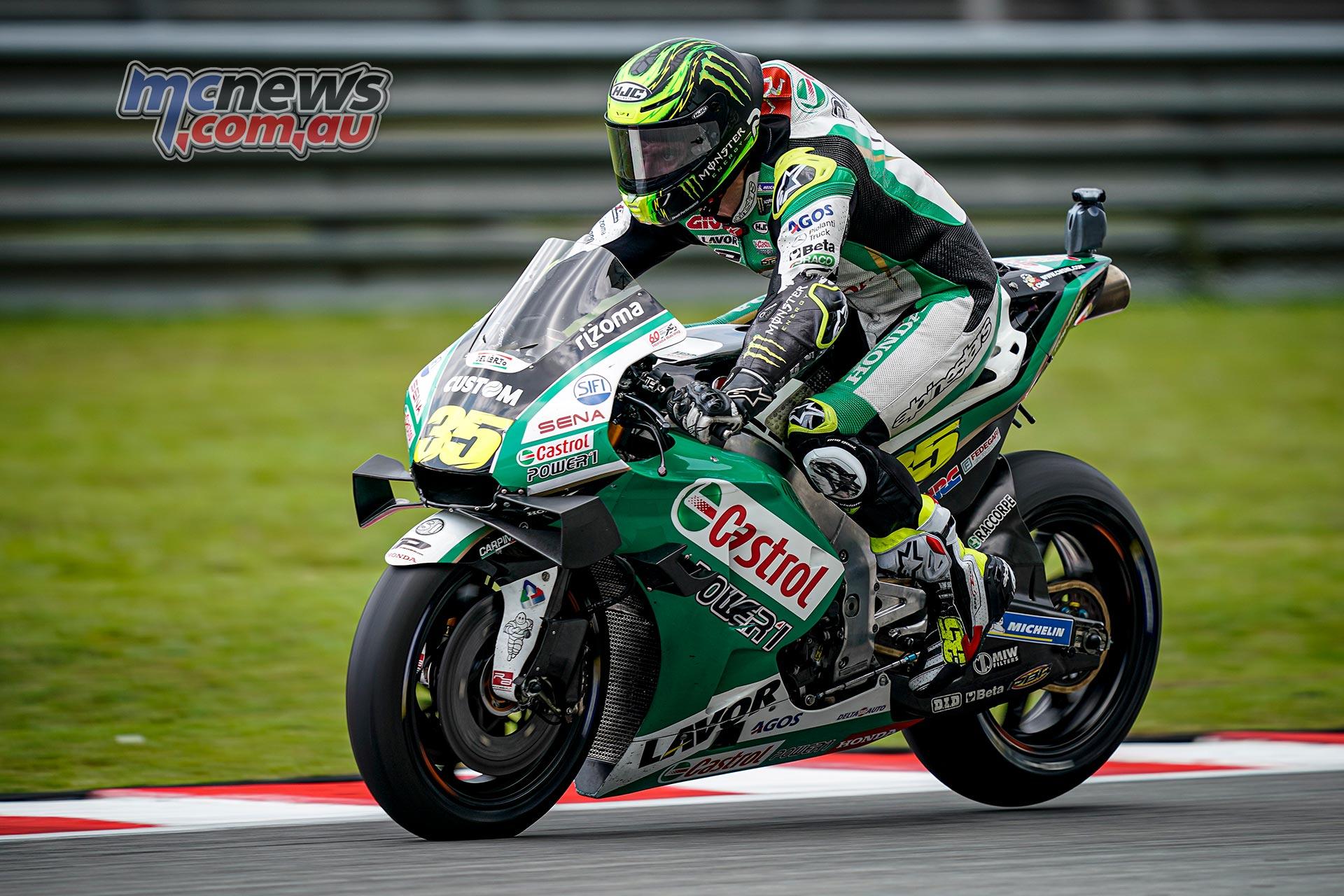 MotoGP Sepang QP Crutchlow