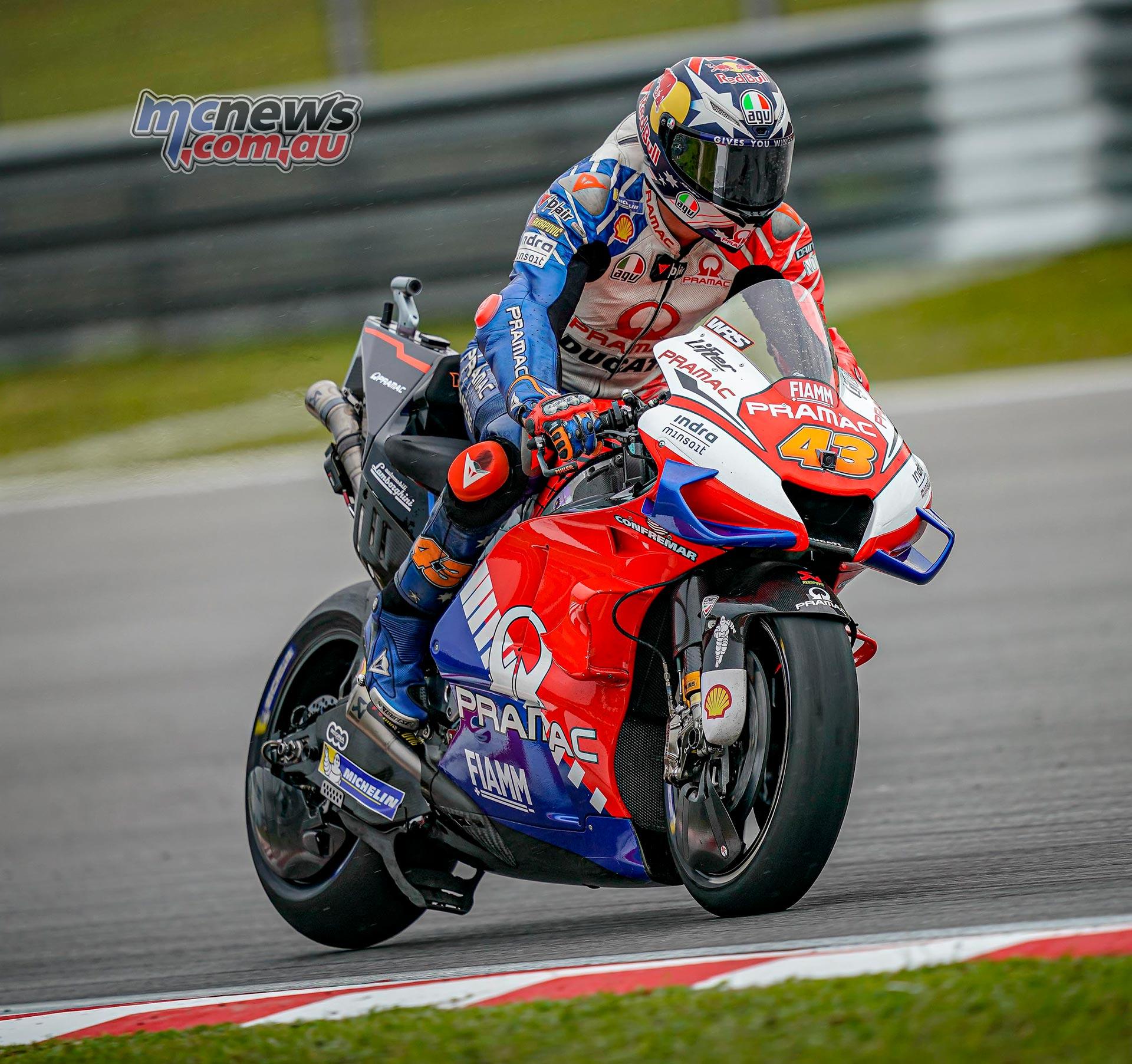MotoGP Sepang QP Miller