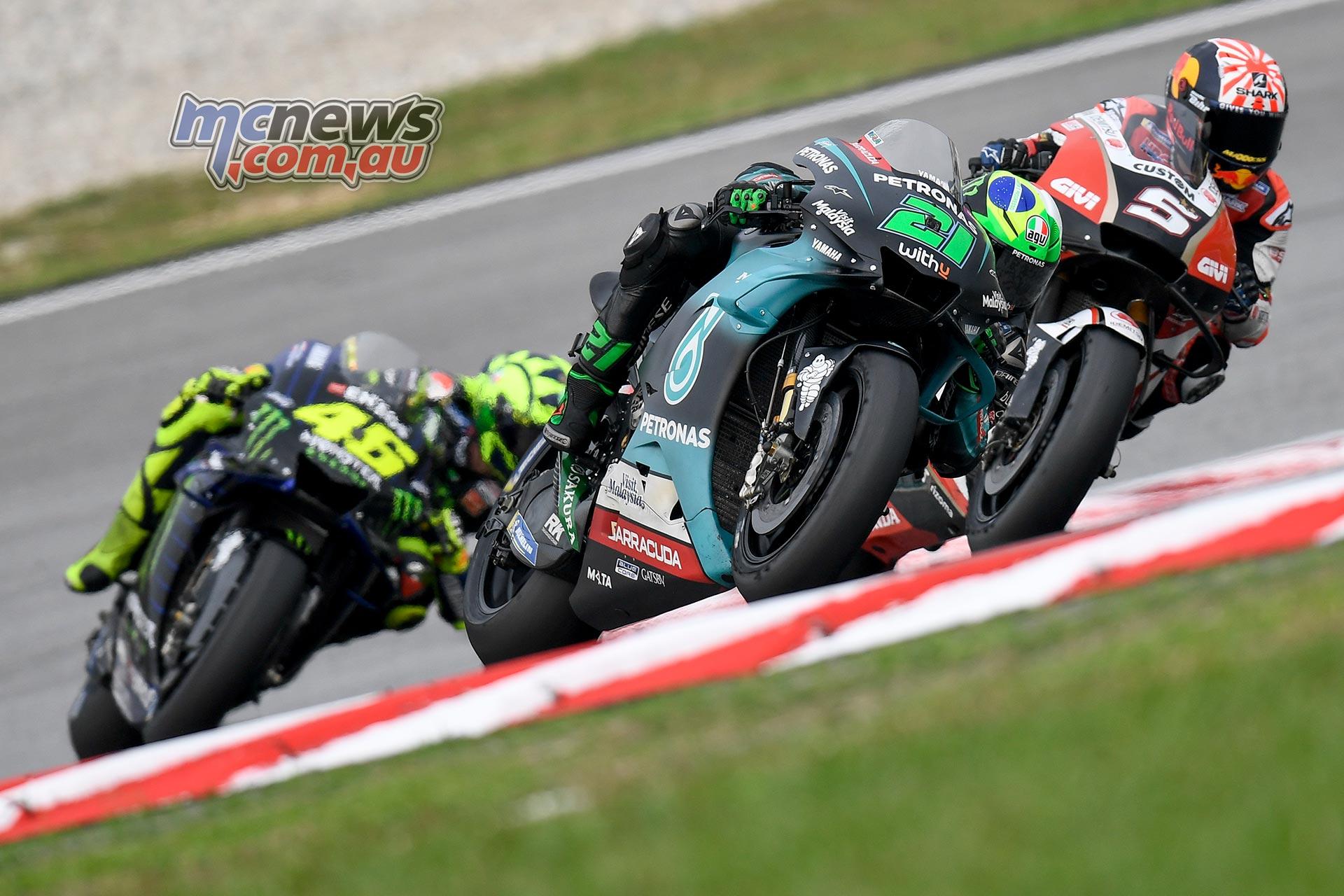 MotoGP Sepang QP Morbidelli Zarco Rossi