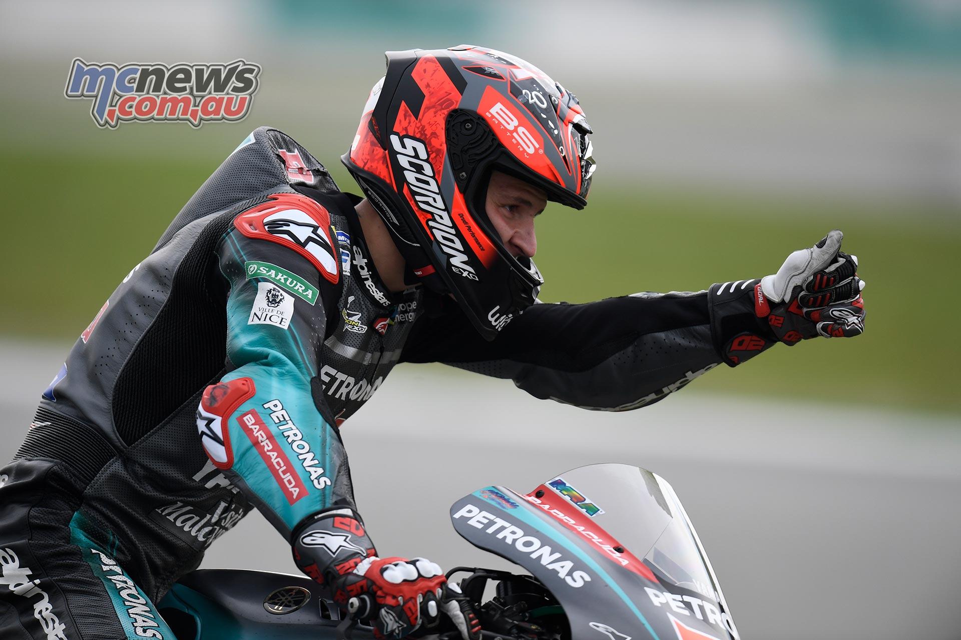 MotoGP Sepang QP Quartararo