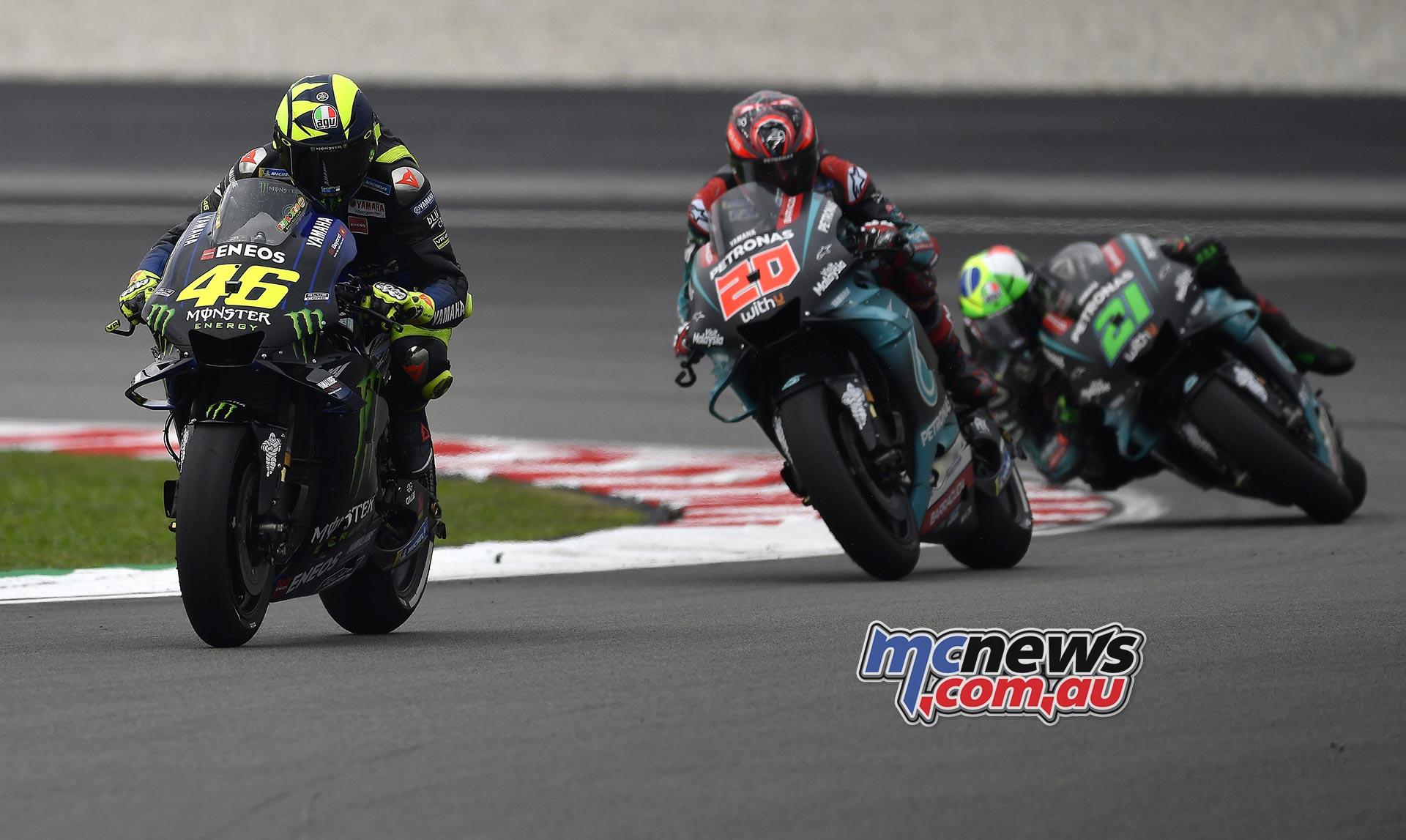 MotoGP Sepang QP Rossi