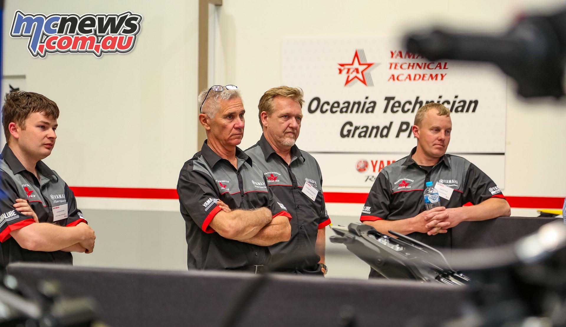 Oceania Motorcycle Technician Grand Prix