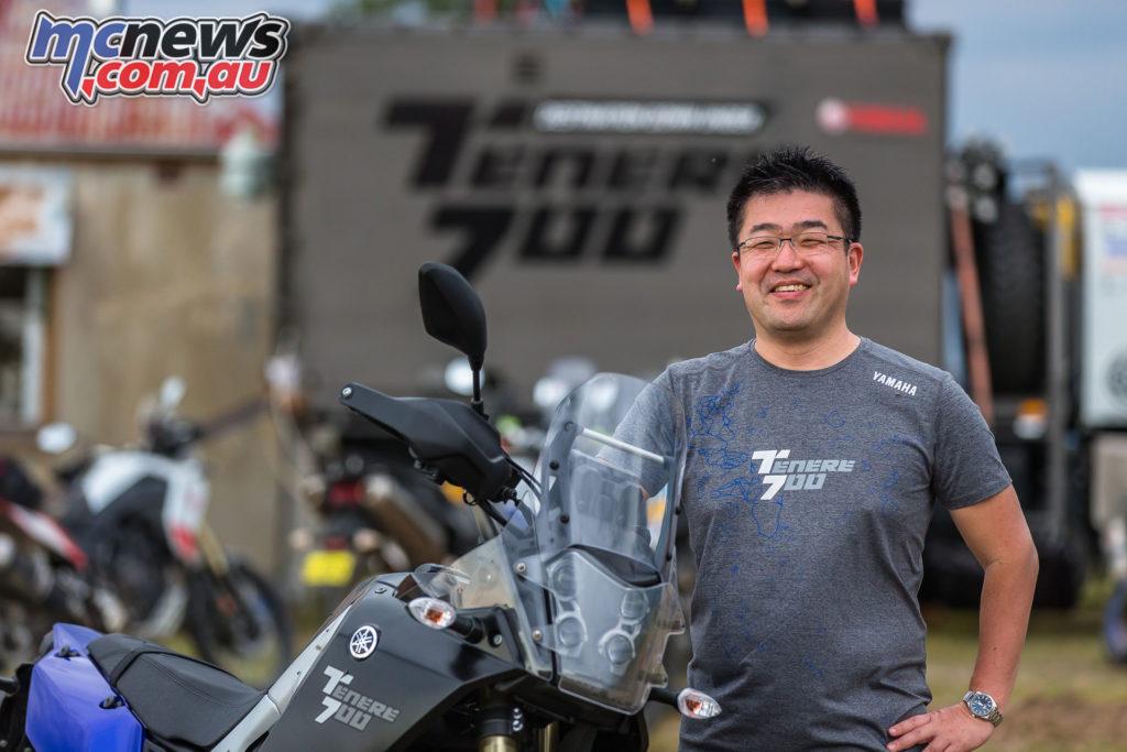 Tenere Launch Takushiro Shiraishi iKap XT LD