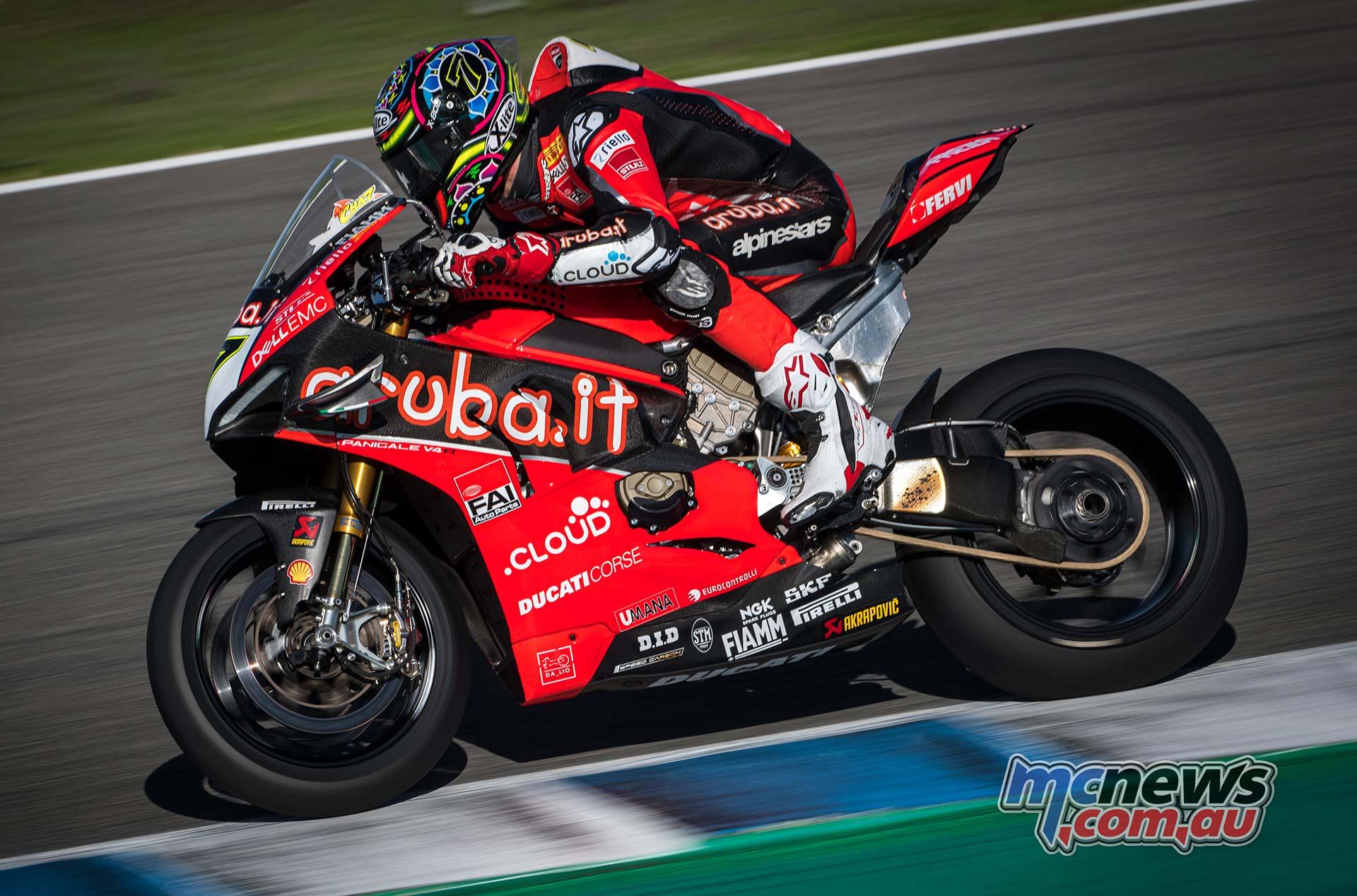 WSBK Jerez Test Nov Chaz Davies