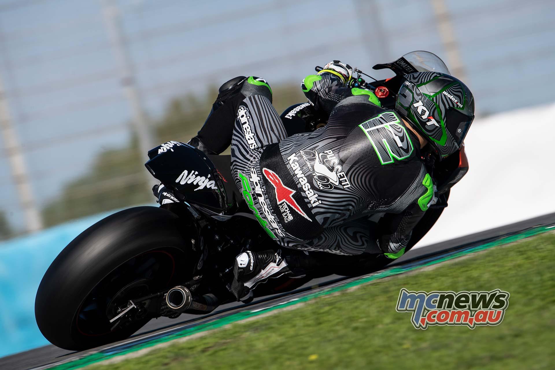 WSBK Jerez Test Nov Fores