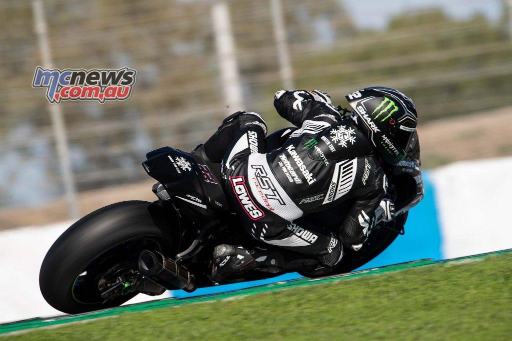 WSBK Jerez Test Nov Lowes