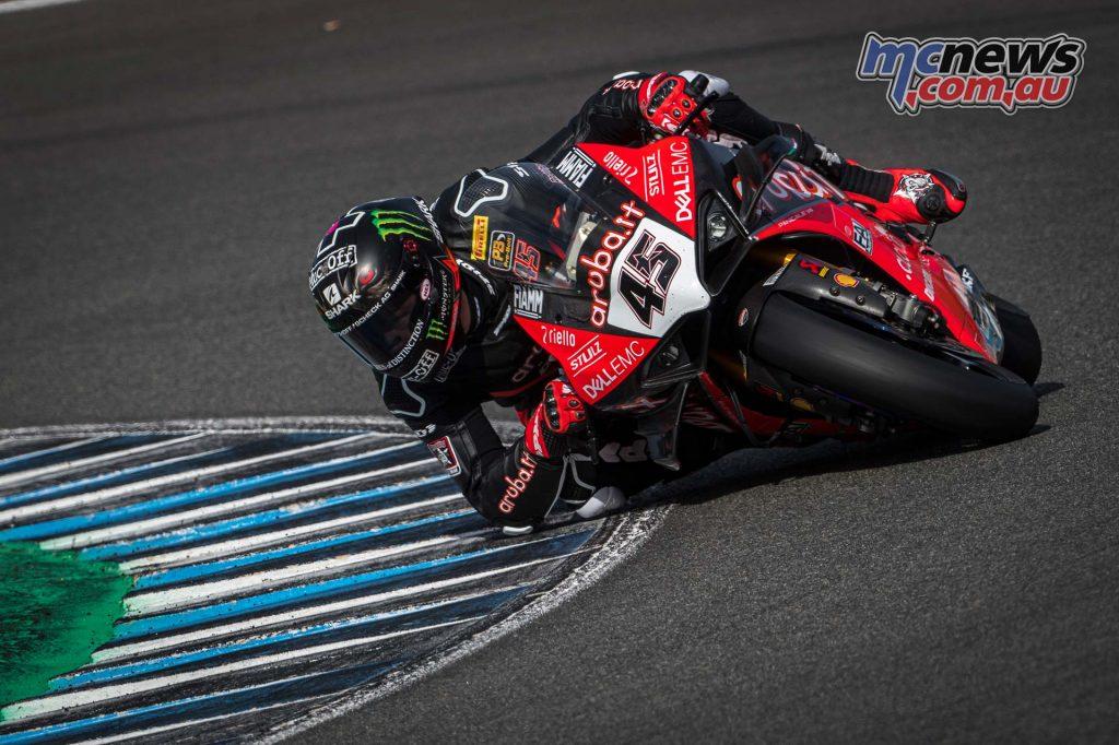 WSBK Jerez Test Nov Scott Redding