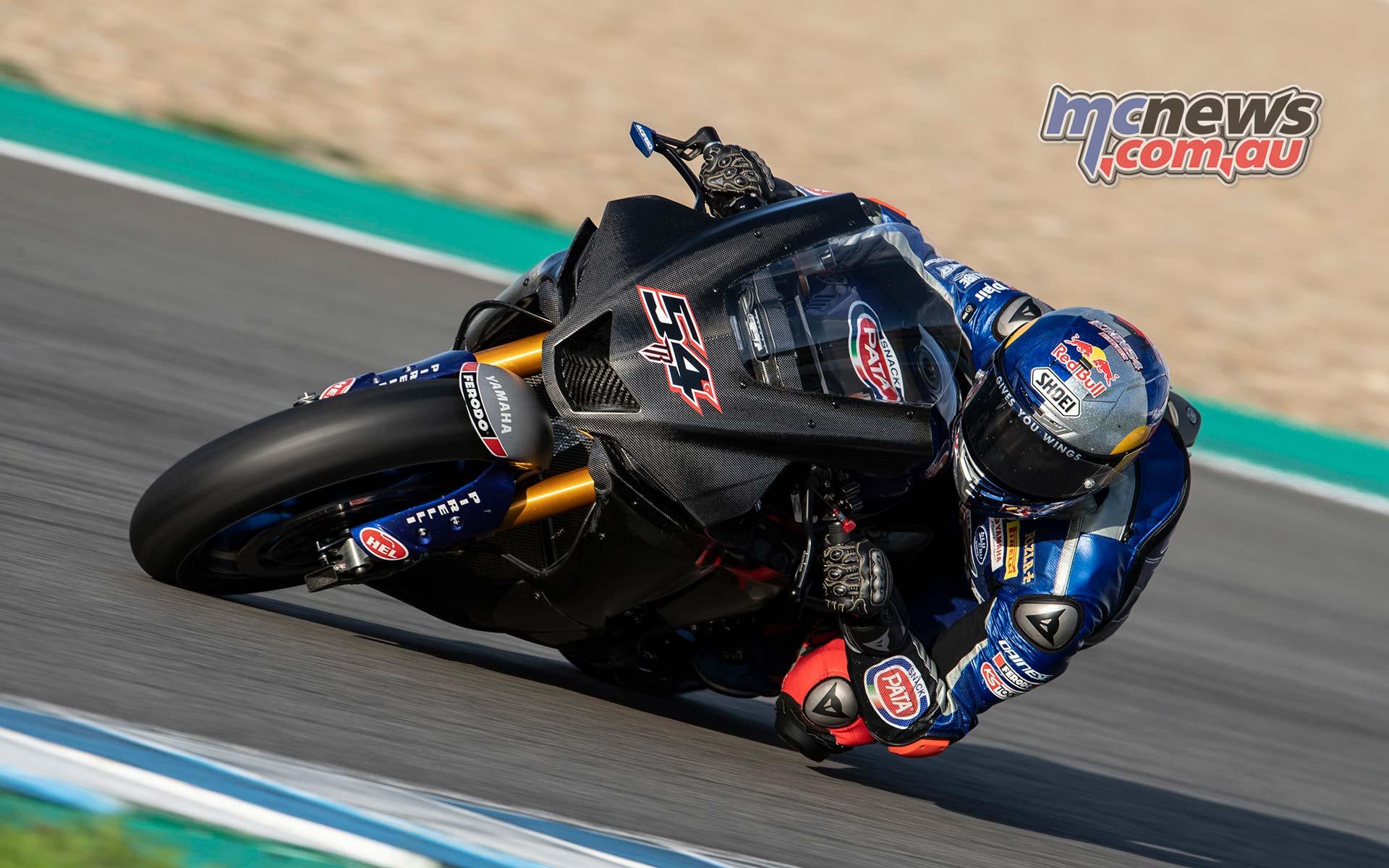 WSBK Jerez Test Nov Toprak Razgatlioglu
