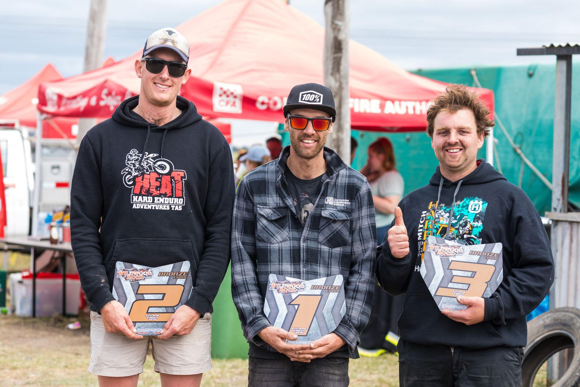 Wildwood Extreme Enduro Bronze Winners