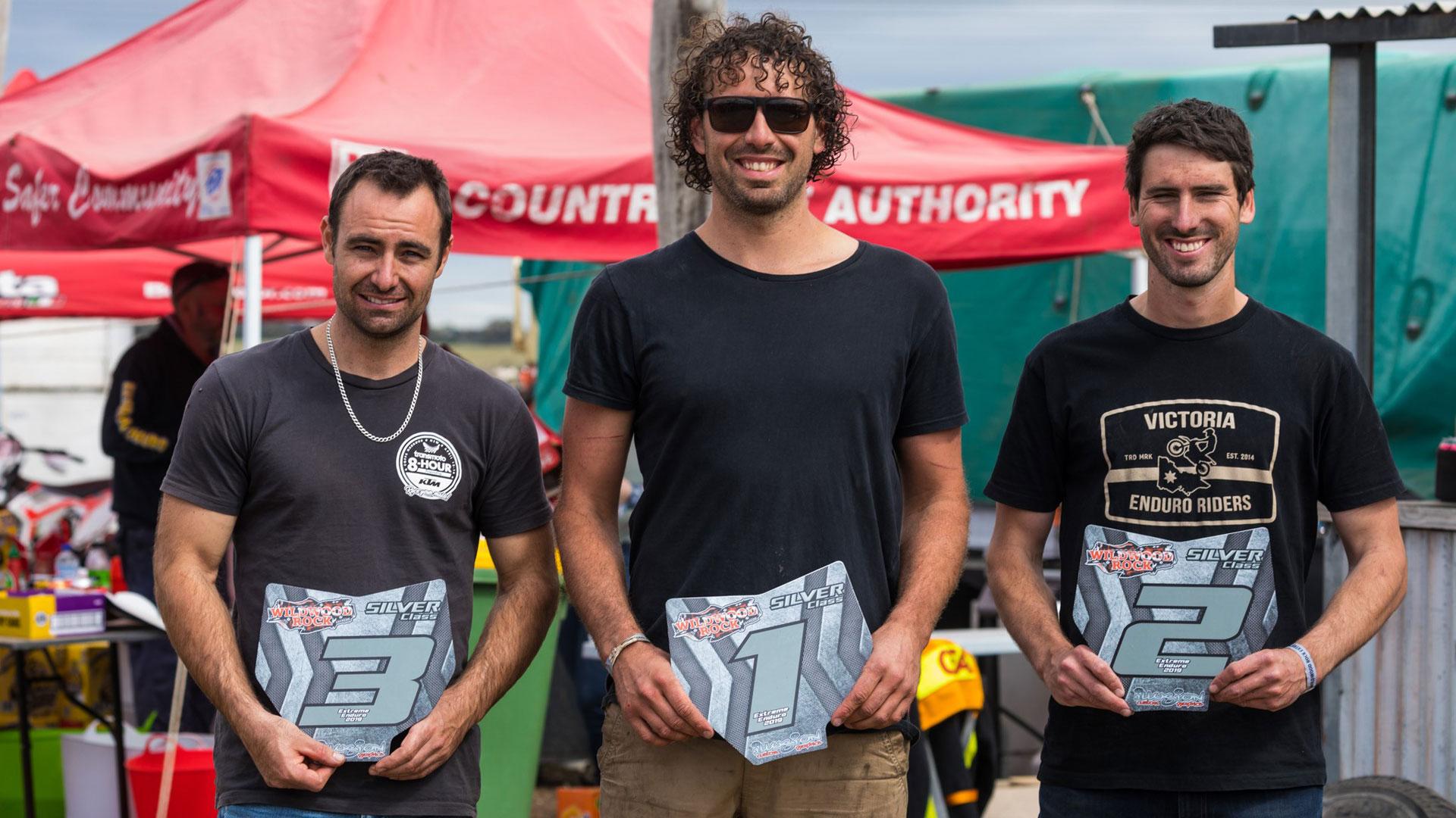 Wildwood Extreme Enduro Silver Winners
