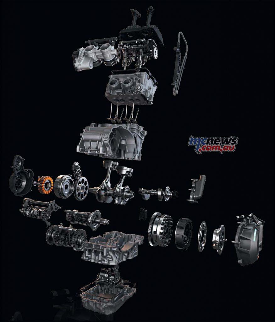 KTM Duke R Engine